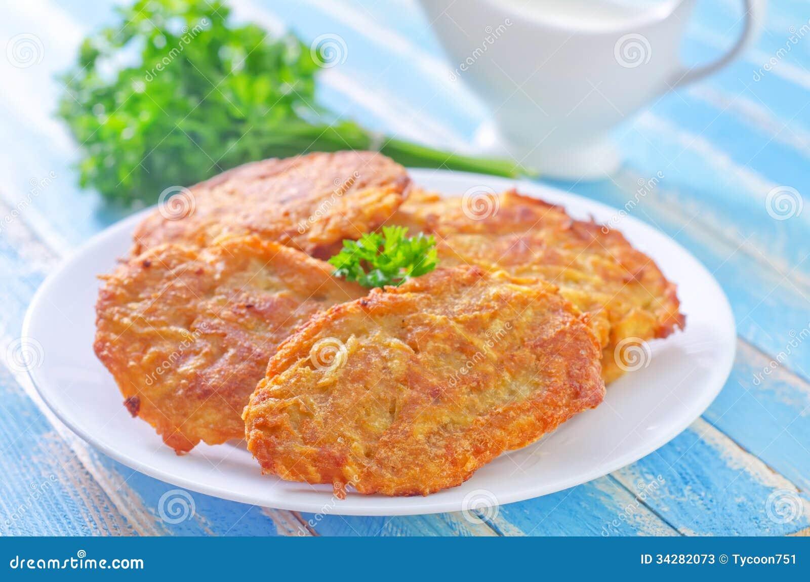Panquecas de batata