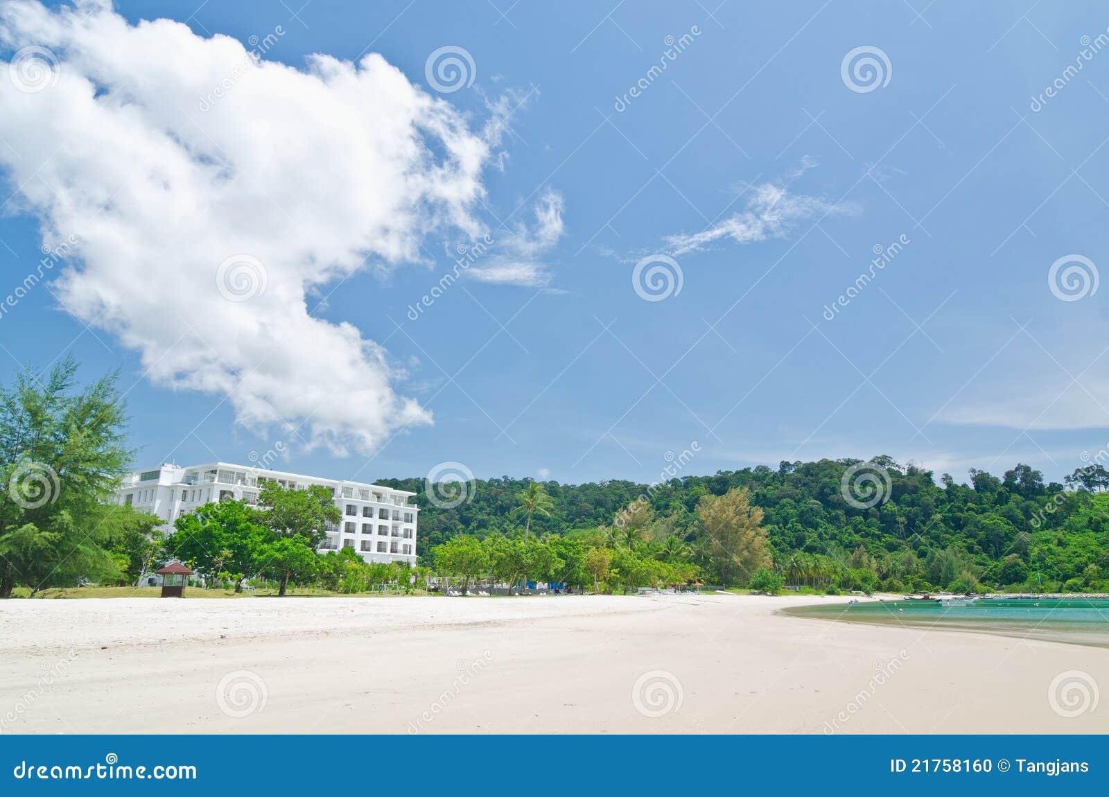 Pantai Kok Langkawi Malaysia Stock Photo