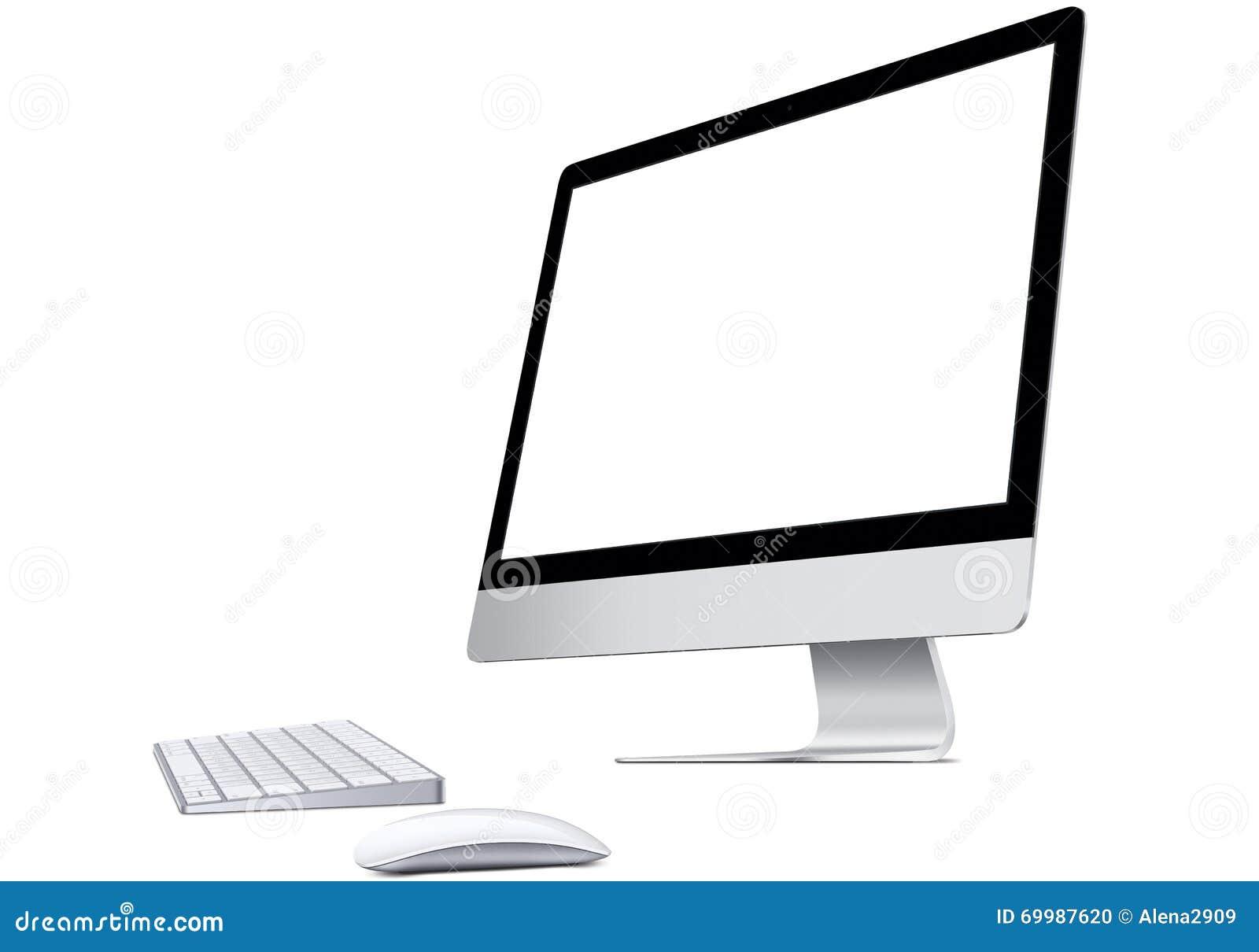 Pantalla de ordenador del mac