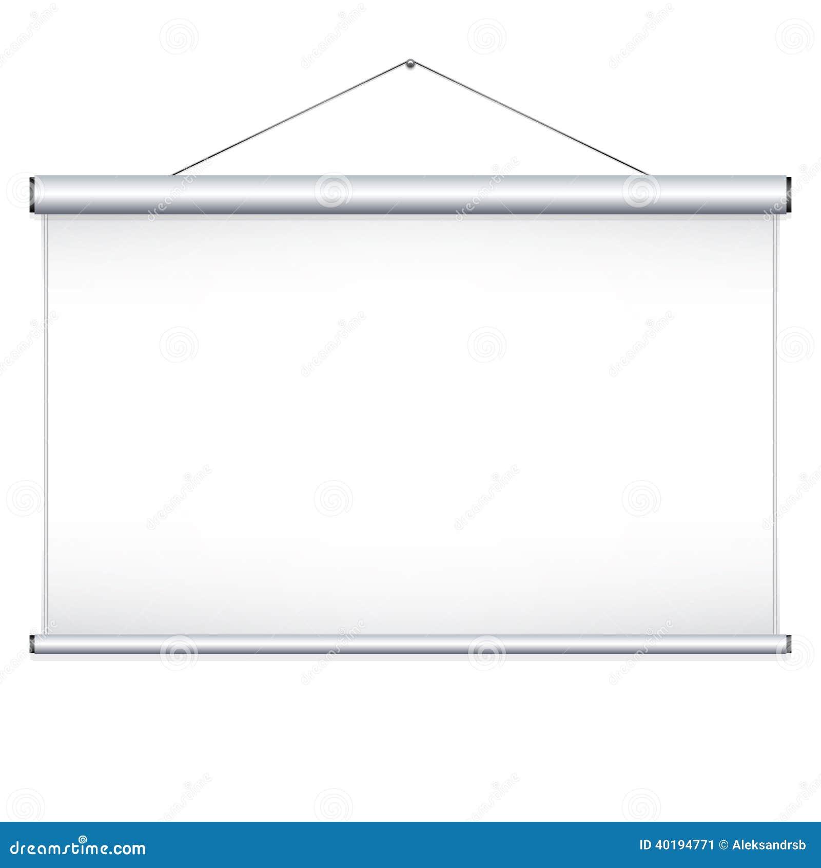 Pantalla de proyector ilustraci n del vector imagen for Pantalla para proyector