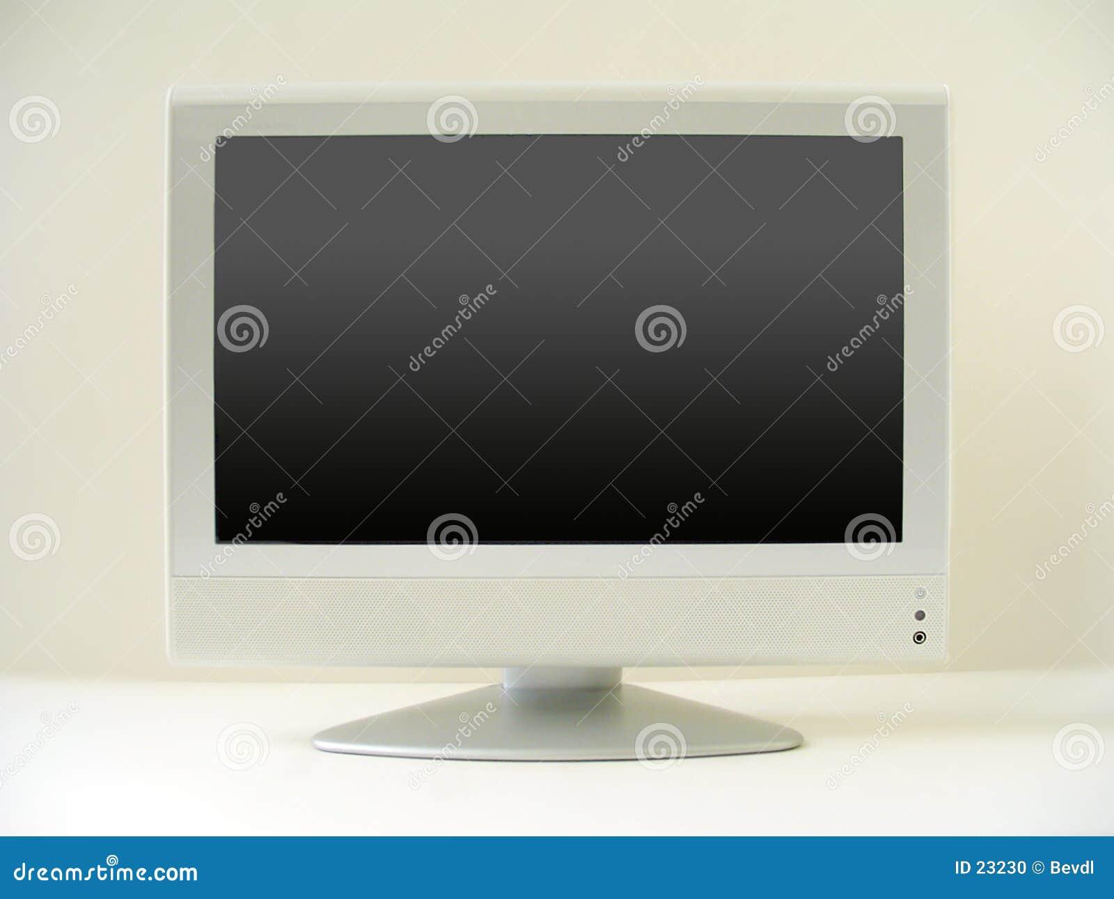Pantalla plana de la TV