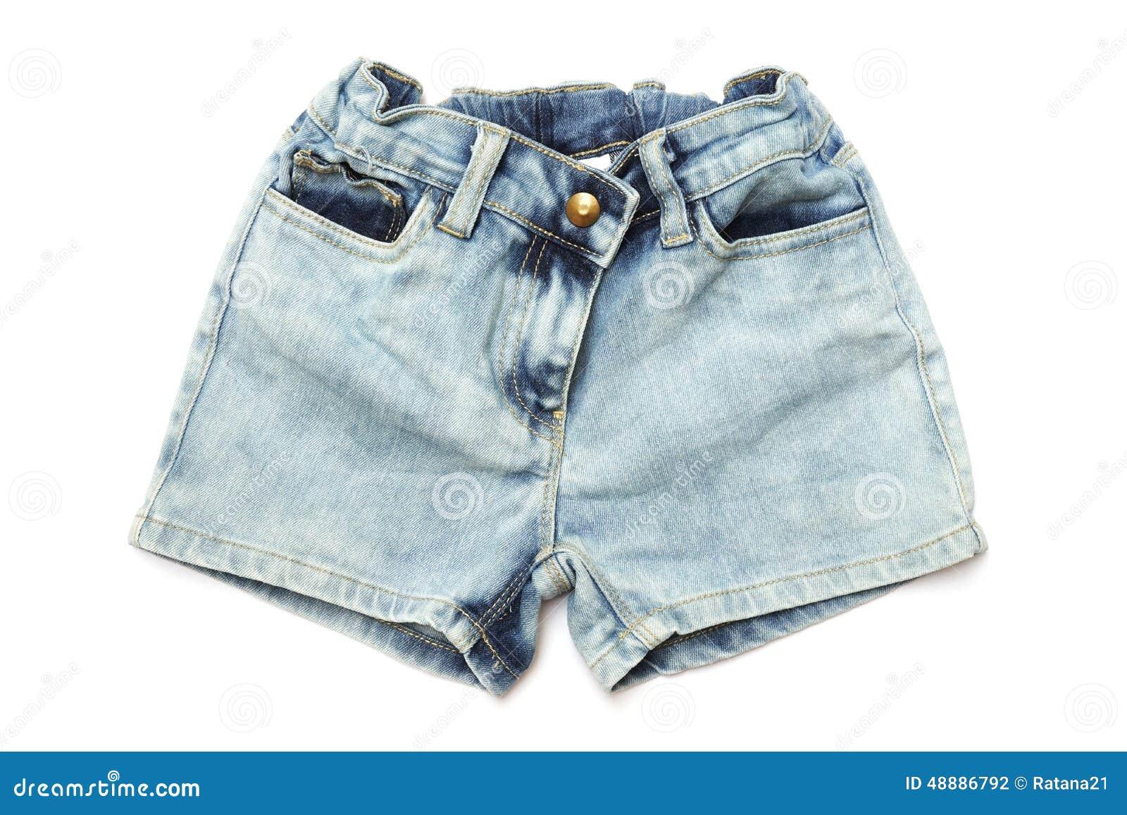 b2d6293b73 Pantalones Cortos De Los Tejanos Para Los Niños Foto de archivo ...
