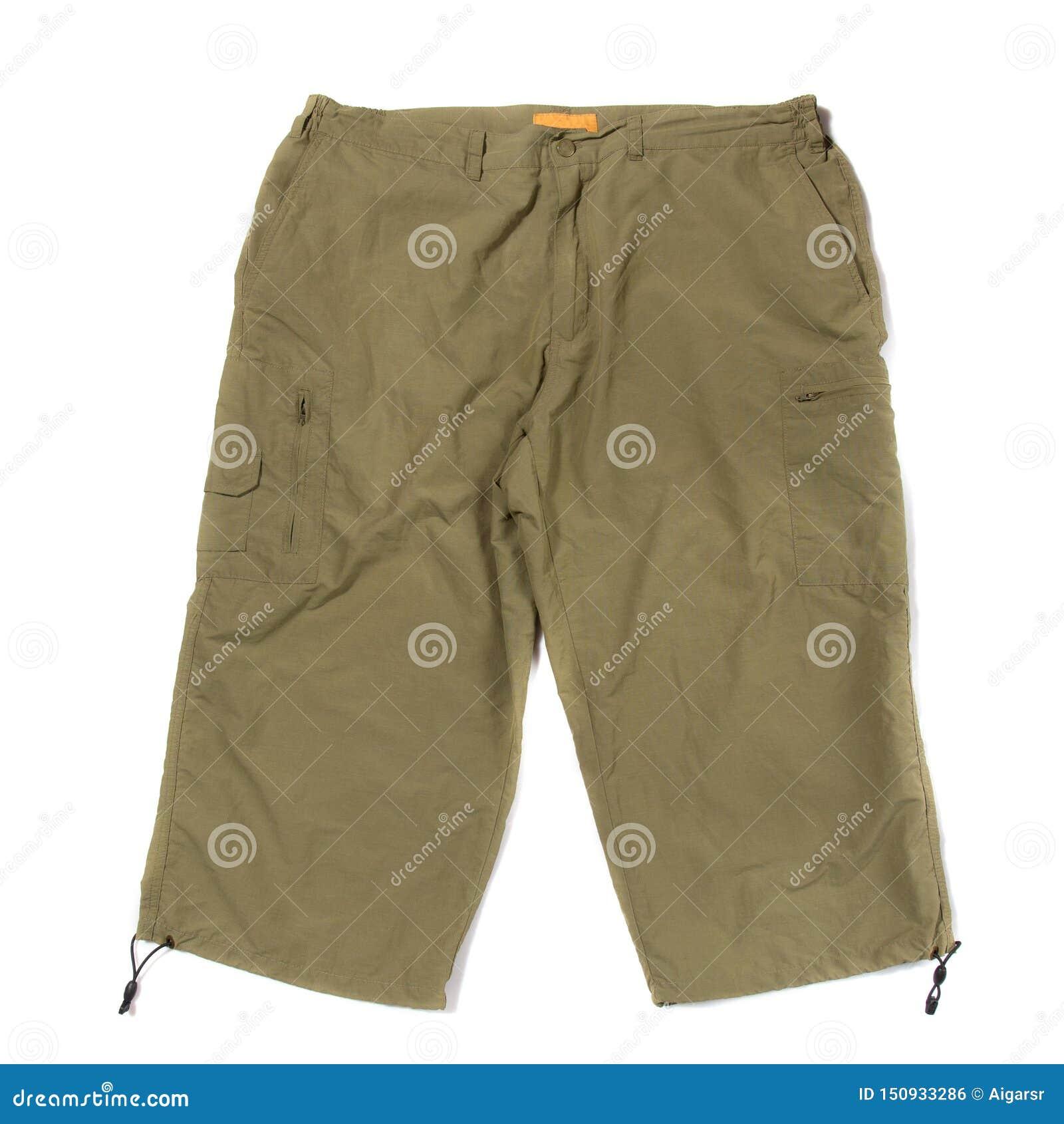 Pantalones cortos que caminan verdes