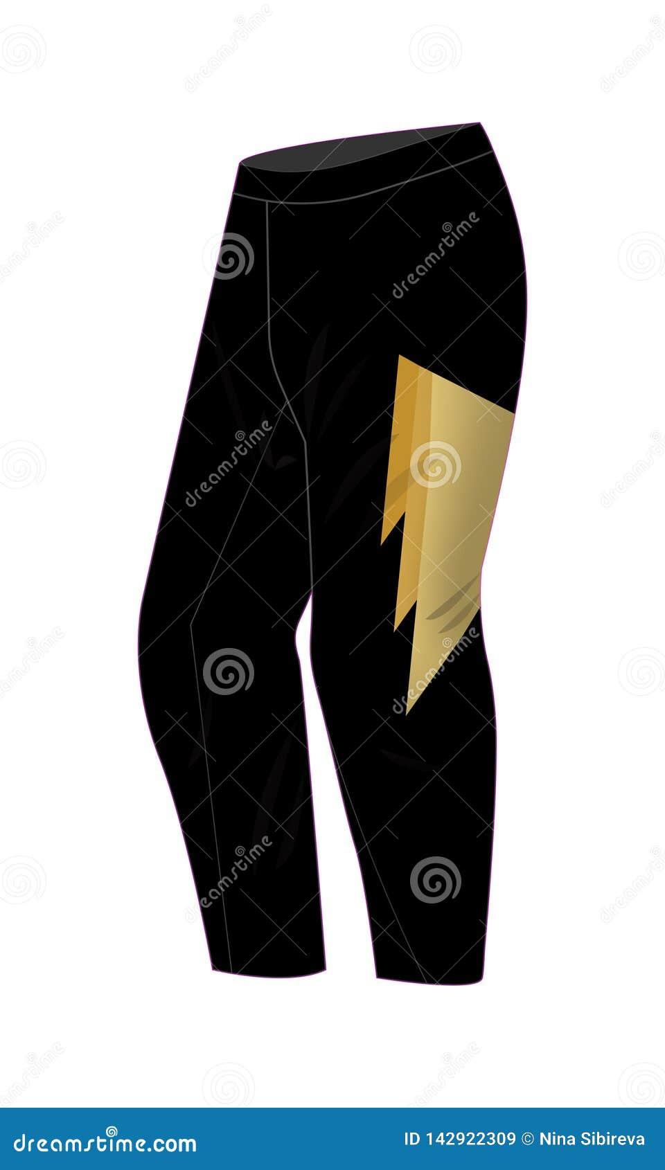 Pantalones De Motocross O Snowboard Stock De Ilustracion Ilustracion De Engranaje Bici 142922309