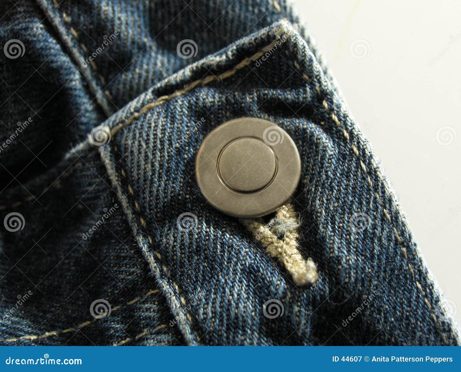 Download Pantalones Vaqueros Abotonados Imagen de archivo - Imagen de bragas, ajustado: 44607