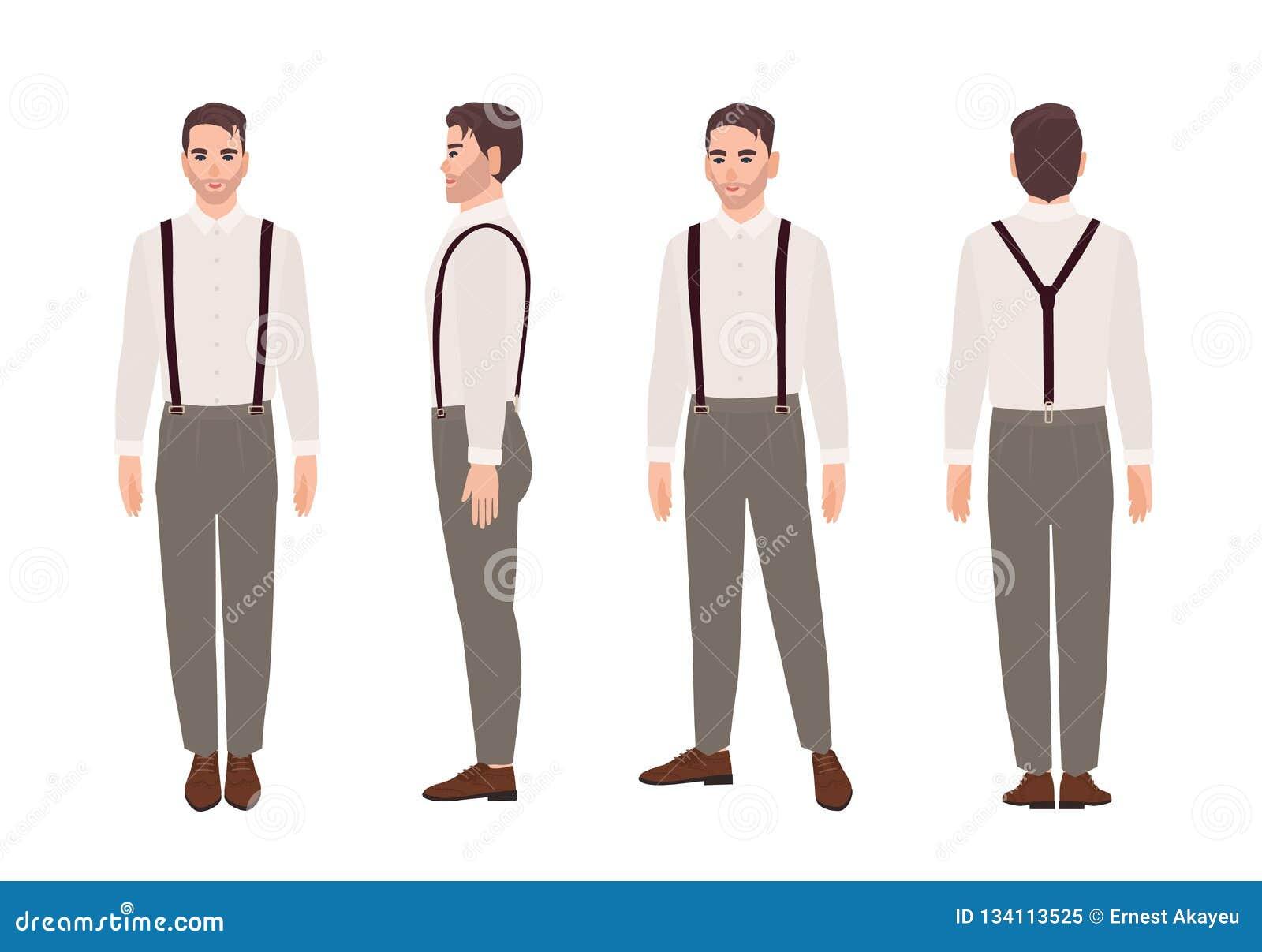 moda uomo stand collare caldo spesso del rivestimento di