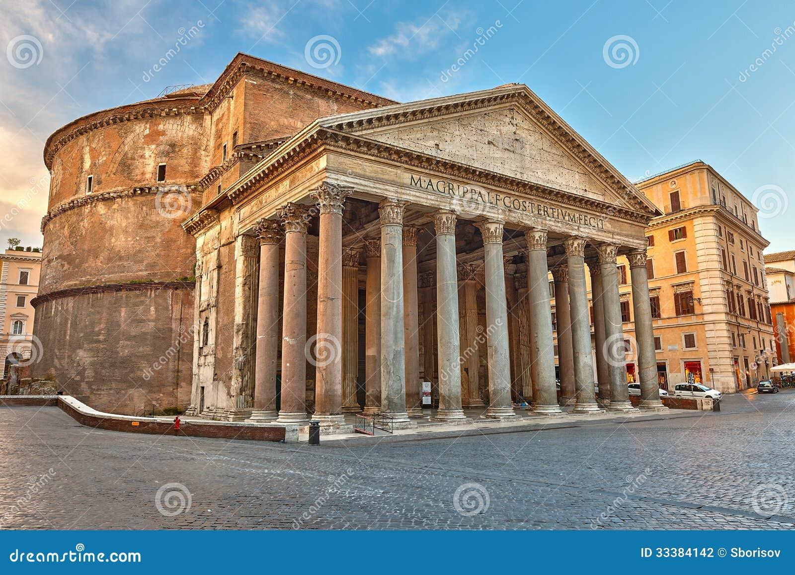 Panteon w Rzym, Włochy