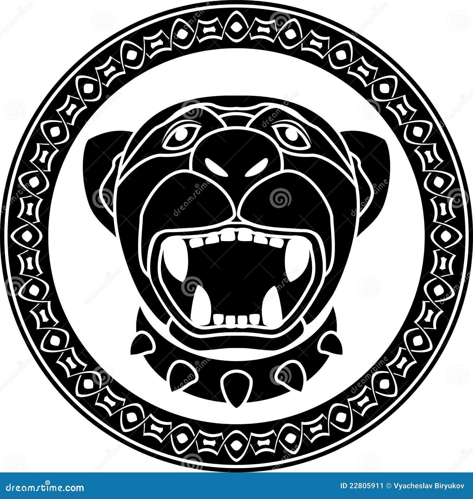 pantera del azteca imagen de archivo imagen 22805911