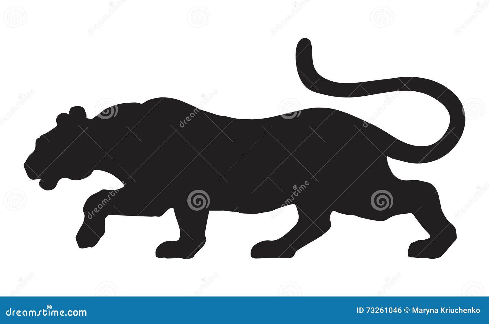 Pantera Desenho Do Vetor Ilustracao Do Vetor Ilustracao De Animal