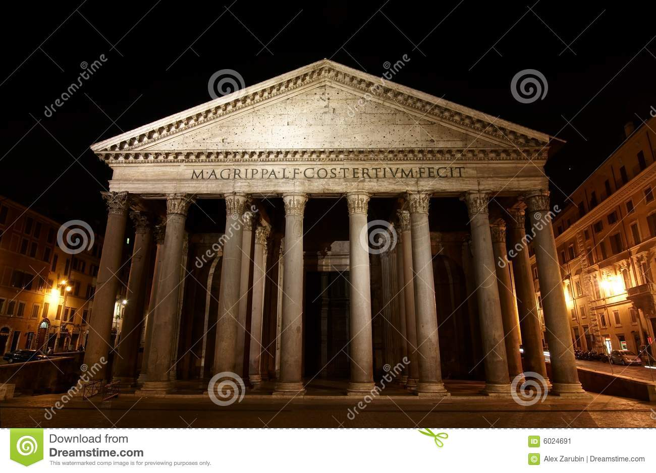 Pantheon - one of the most famous building in Rome