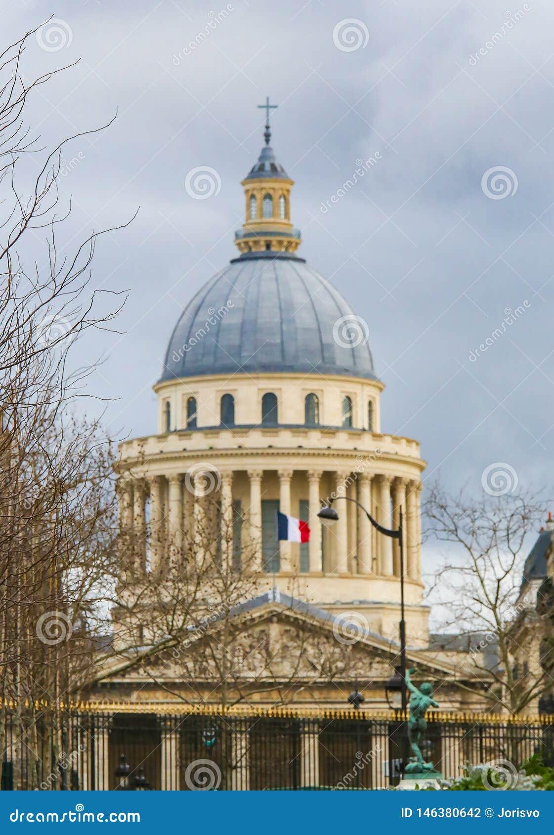 Pantheon in Parijs, Frankrijk