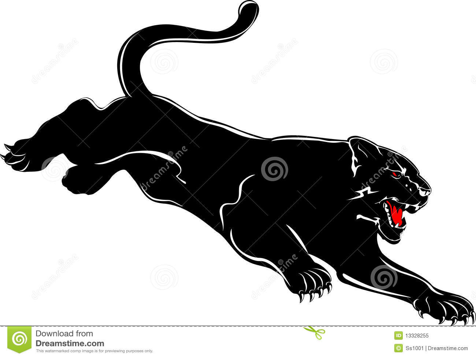 Panther attacks