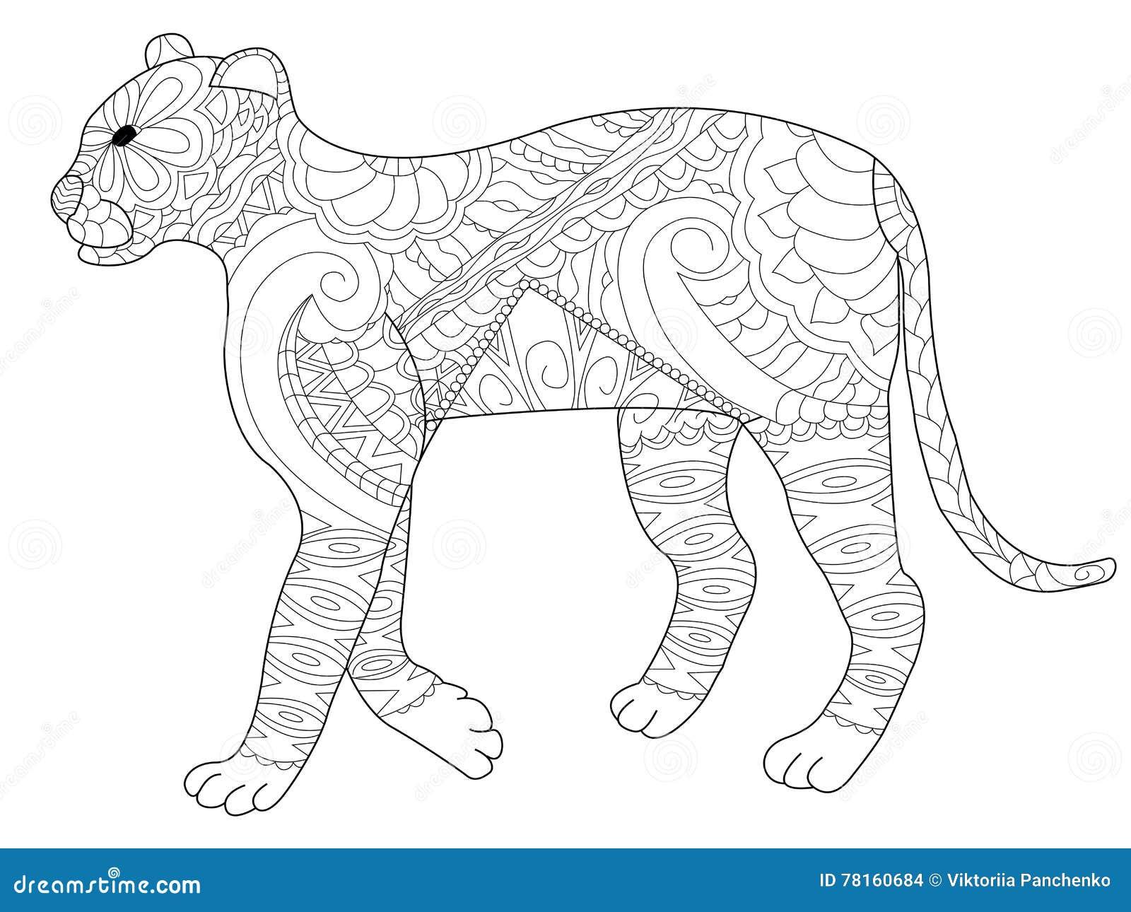panther vector  cartoondealer 20536386