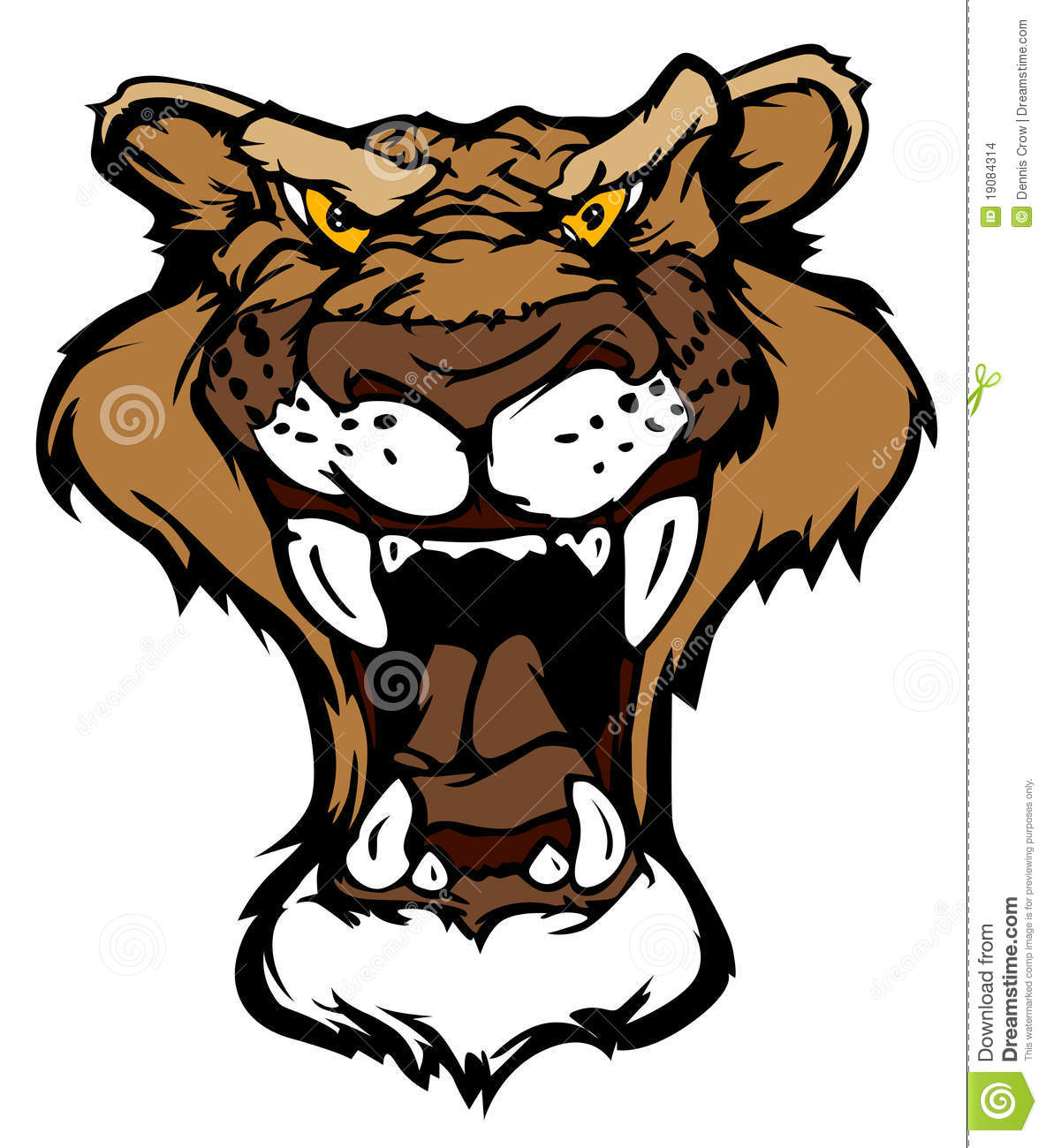 More similar stock images of ` Panther Cougar Mascot Logo `