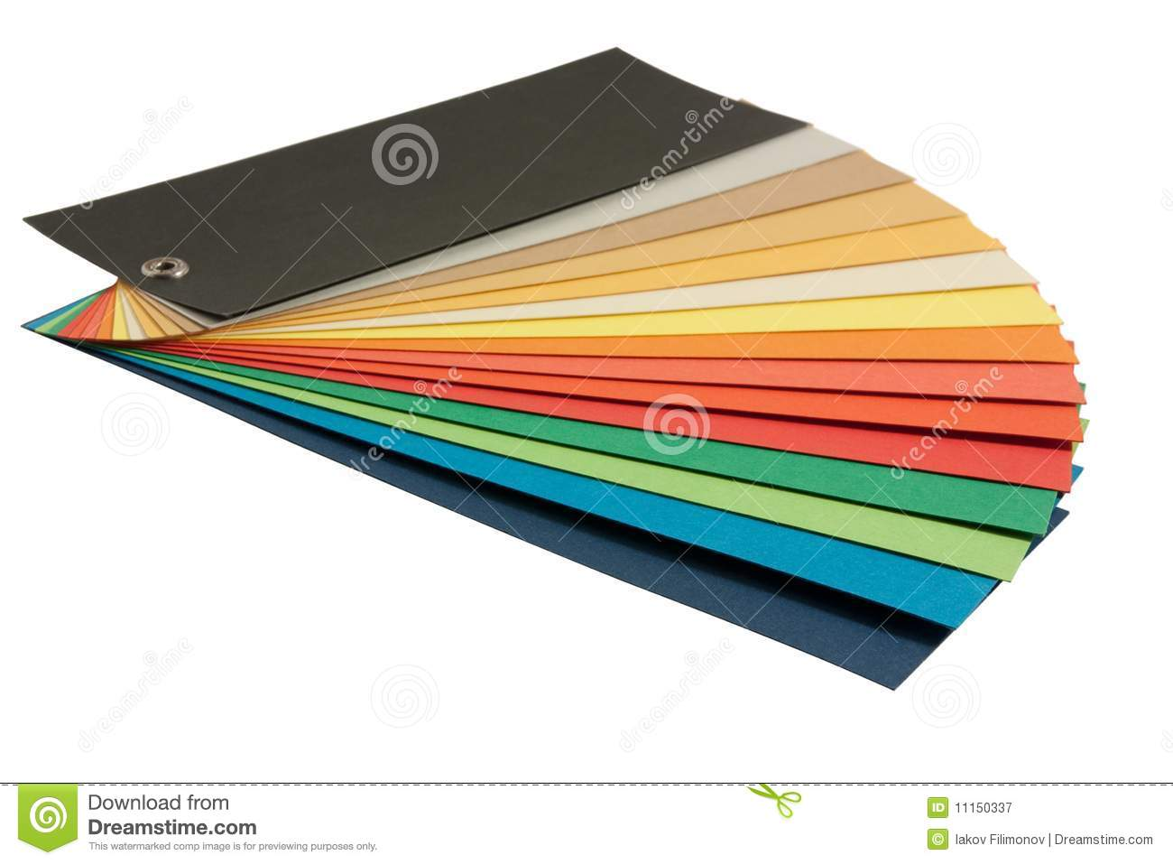 Pantone Color Scheme Stock Image Image Of Graphic Guide 11150337