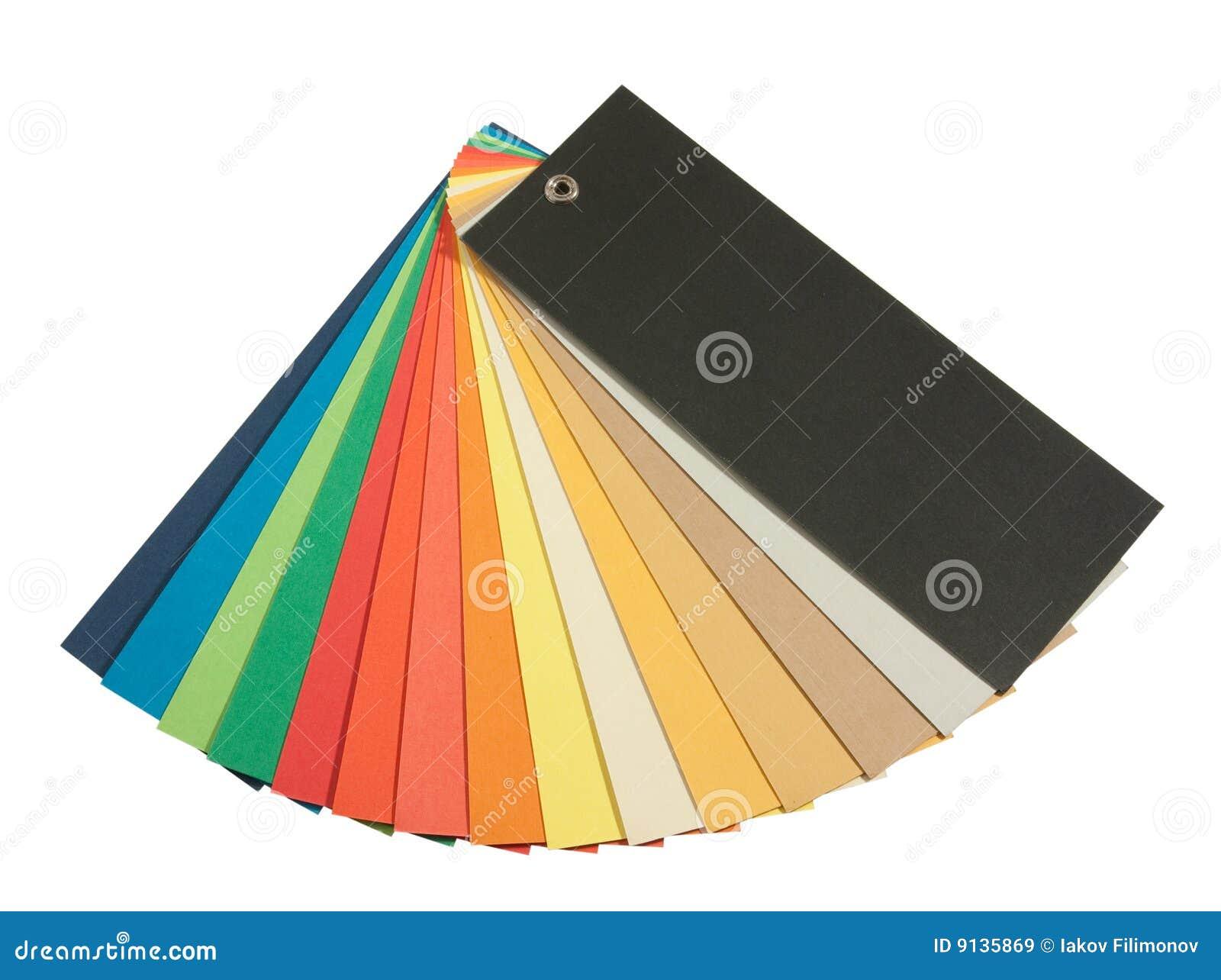 Pantone Color Scheme Stock Image Image Of Formula Guide 9135869