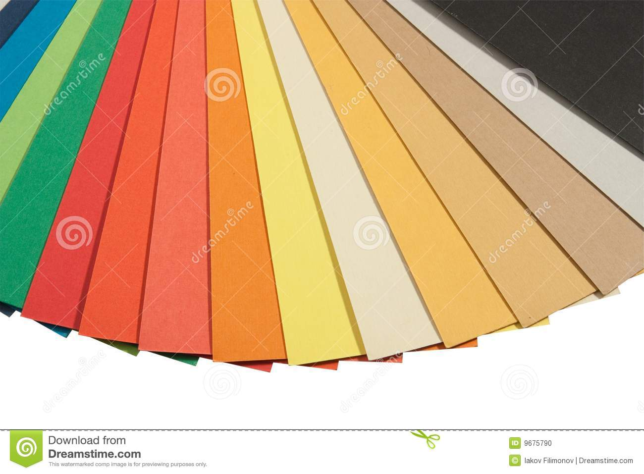 Pantone Color Scheme Stock Photo Image Of Abstract Multi 9675790