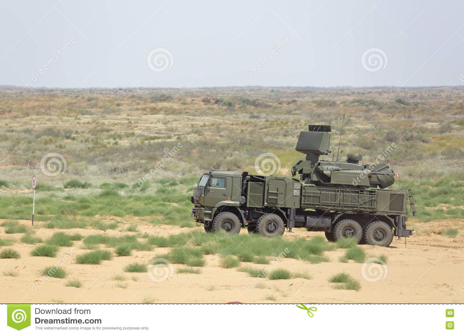 Russian Pantsir-s1 (sa-22 Greyhound) Medium Range Surface-to-air ...