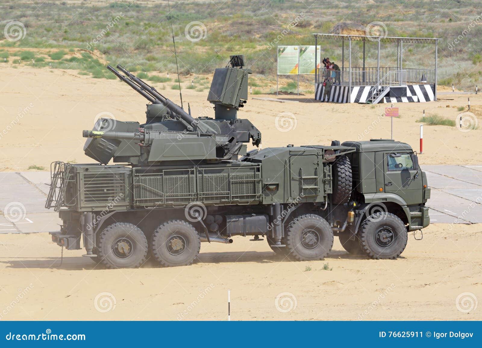 Pantsir-S1 (SA-22 Greyhound) Editorial Stock Image - Image: 76625879