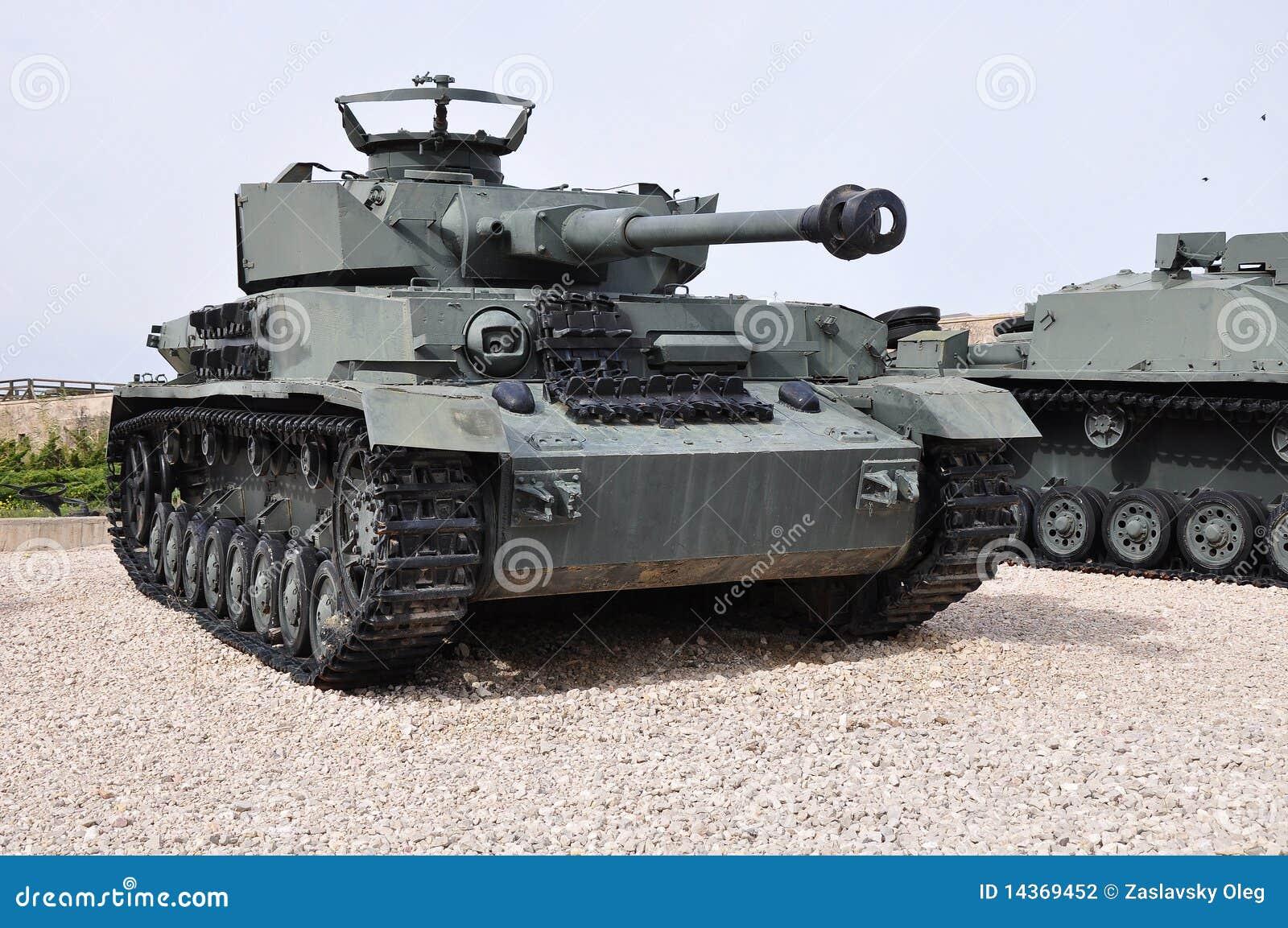 Panzer 4 Nazi Ww 2 Panzer Stockfotografie Bild 14369452