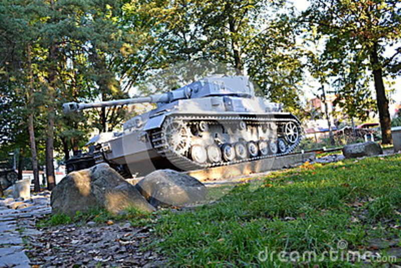 Panzer editorial photography  Image of memorial, equipment - 80162007