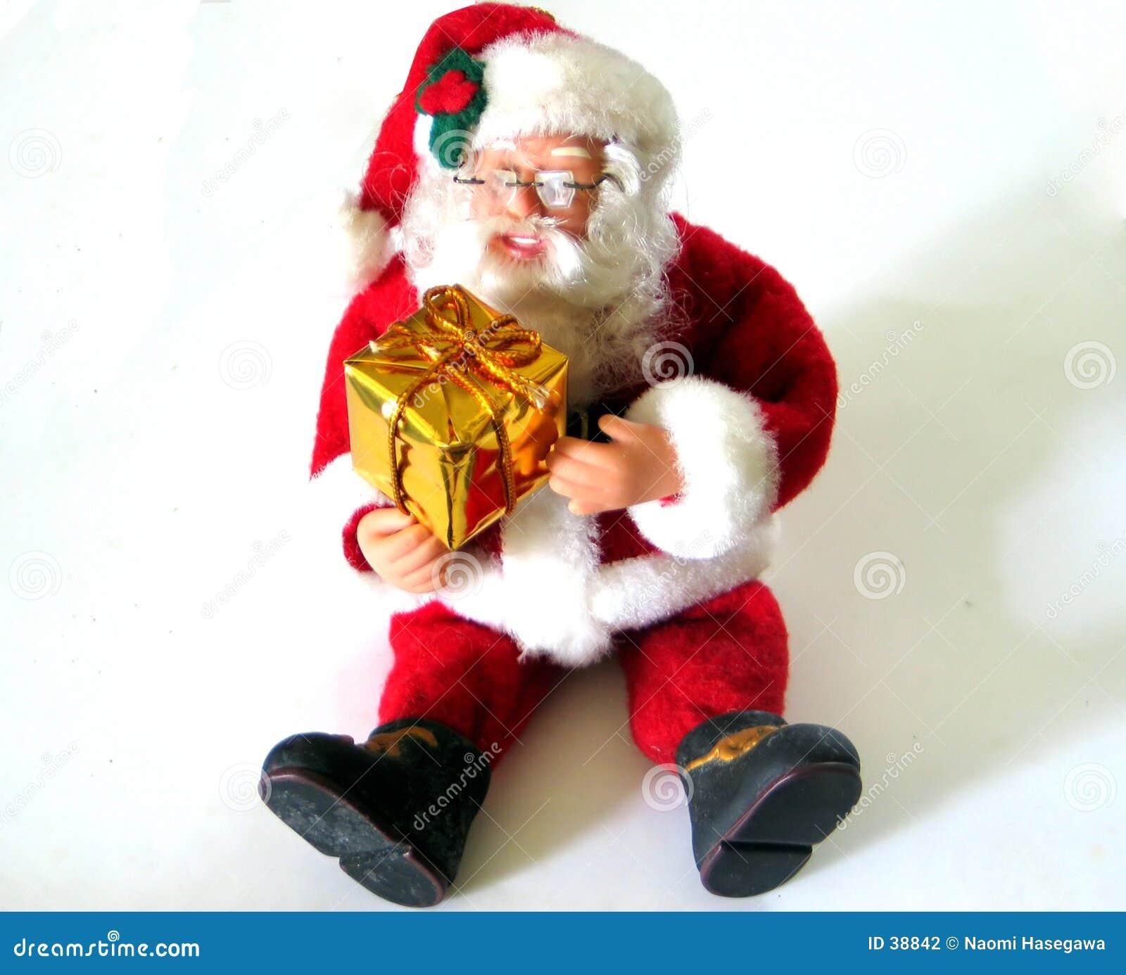 Download Papá Noel foto de archivo. Imagen de saludo, claus, santa - 38842
