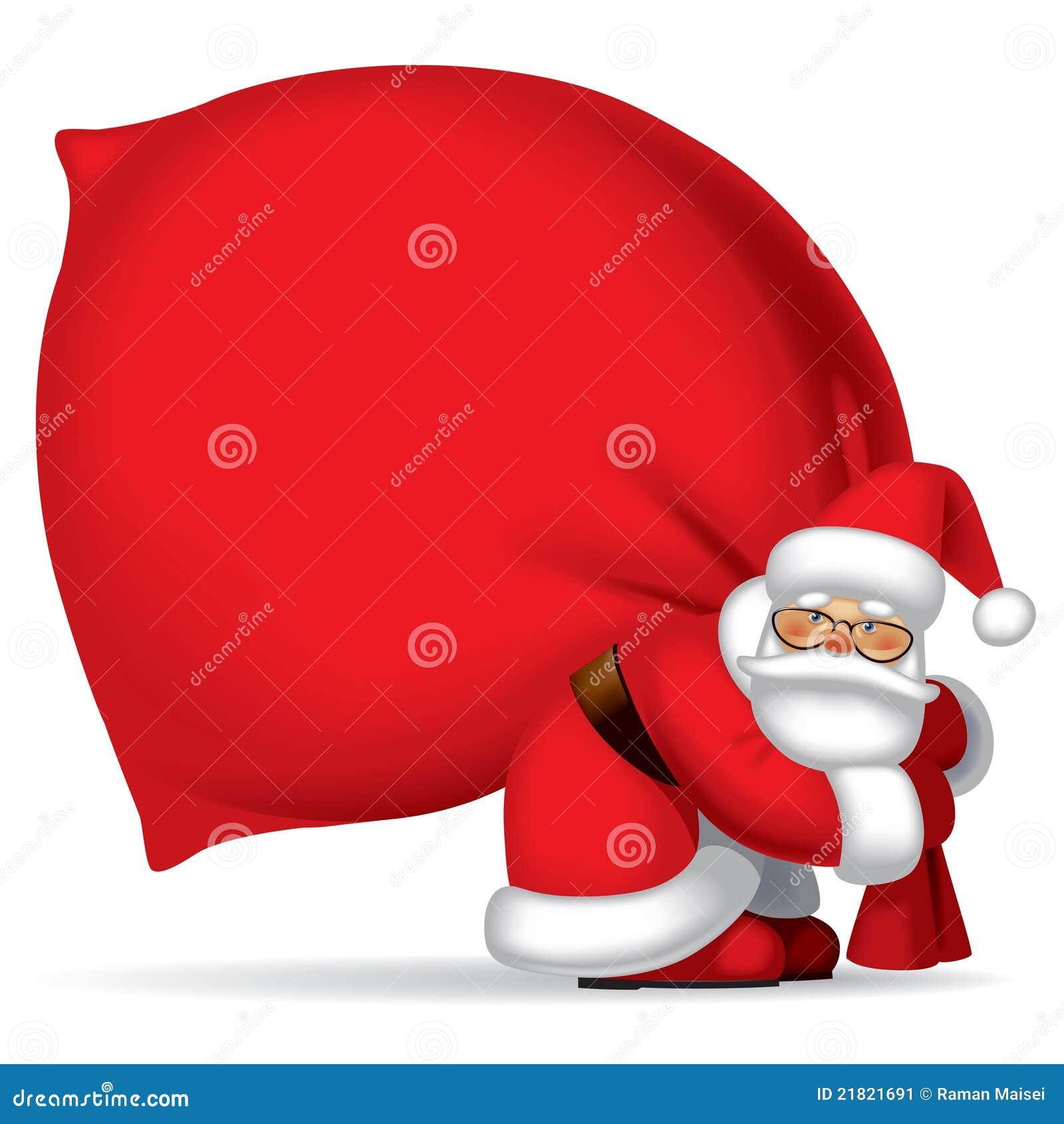 Papá Noel con el saco