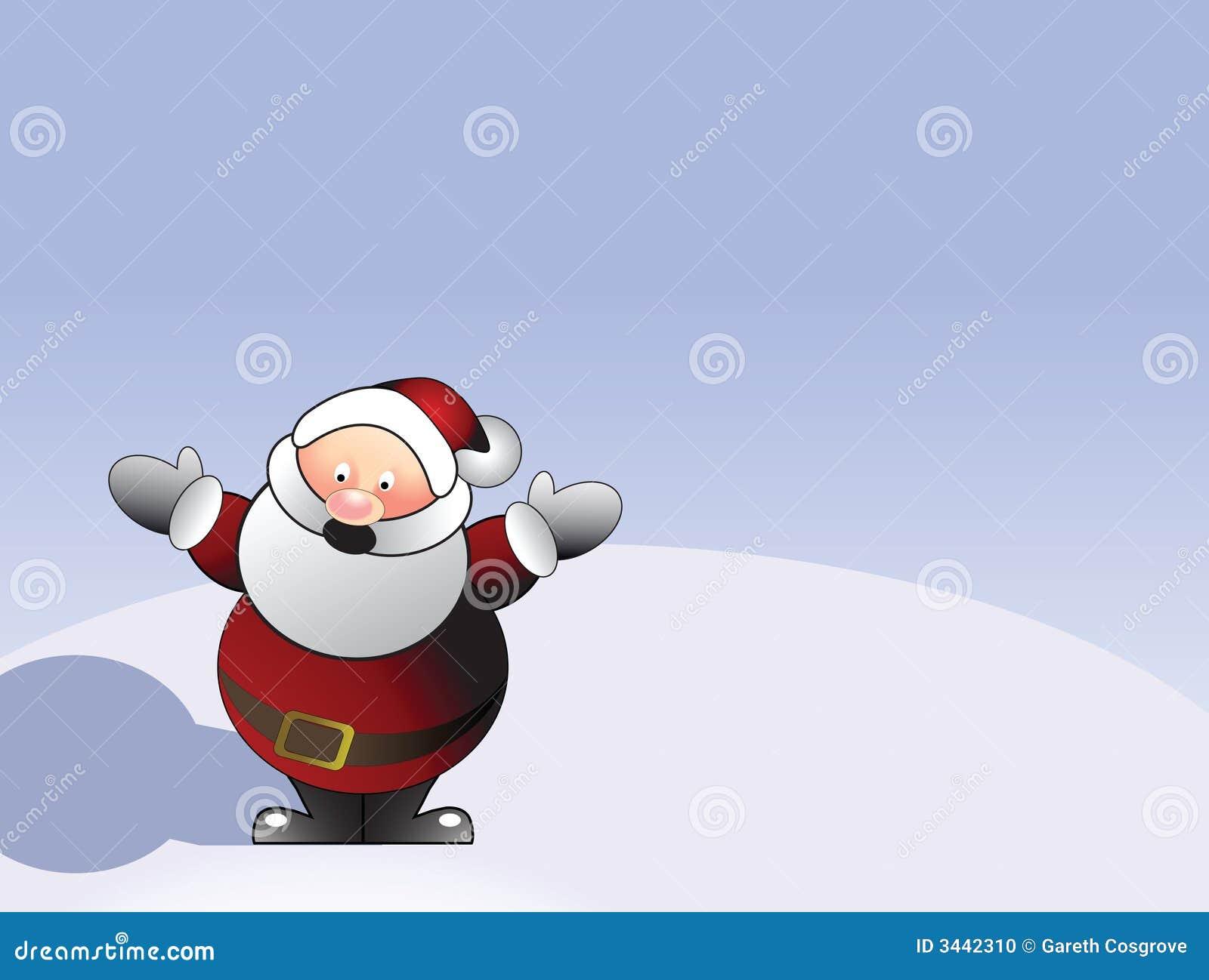Papá Noel ilustrado