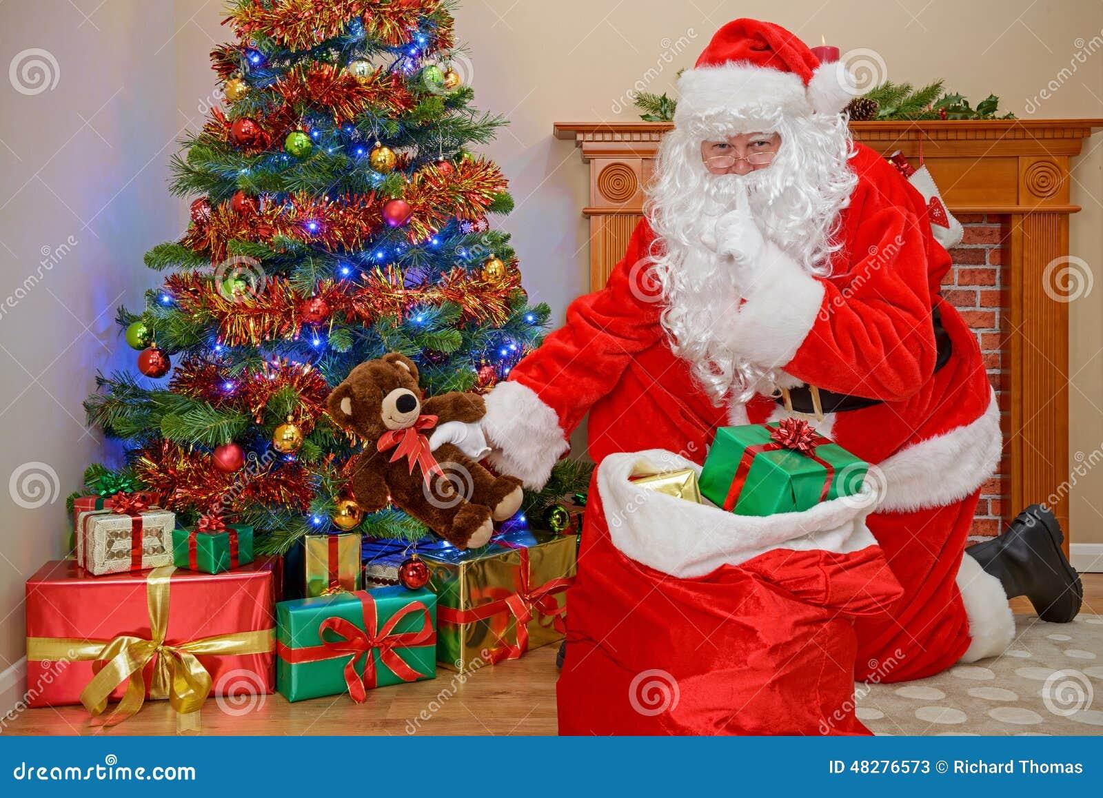 claus navidad noel padre presentes regalos