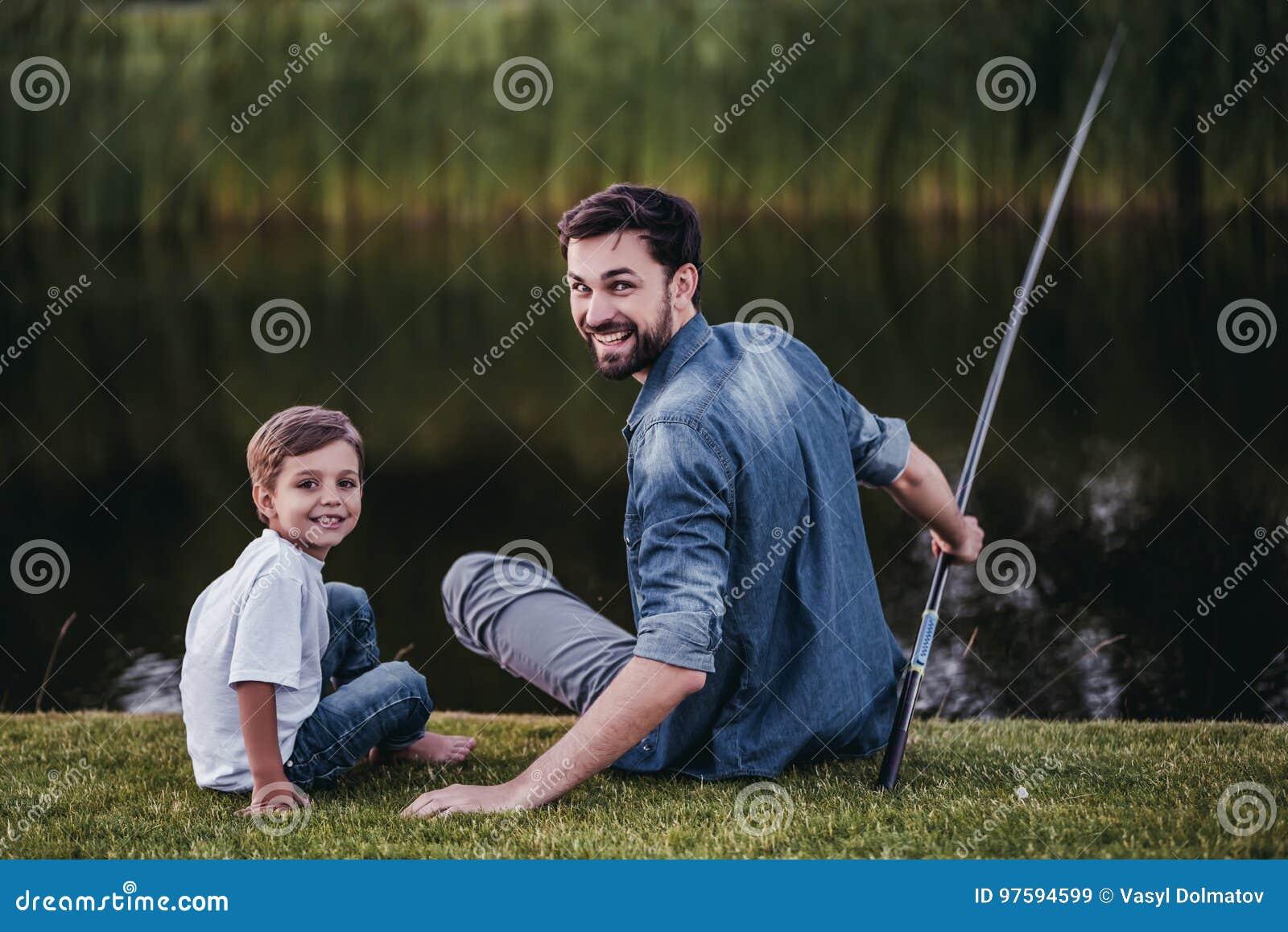Papa avec le fils