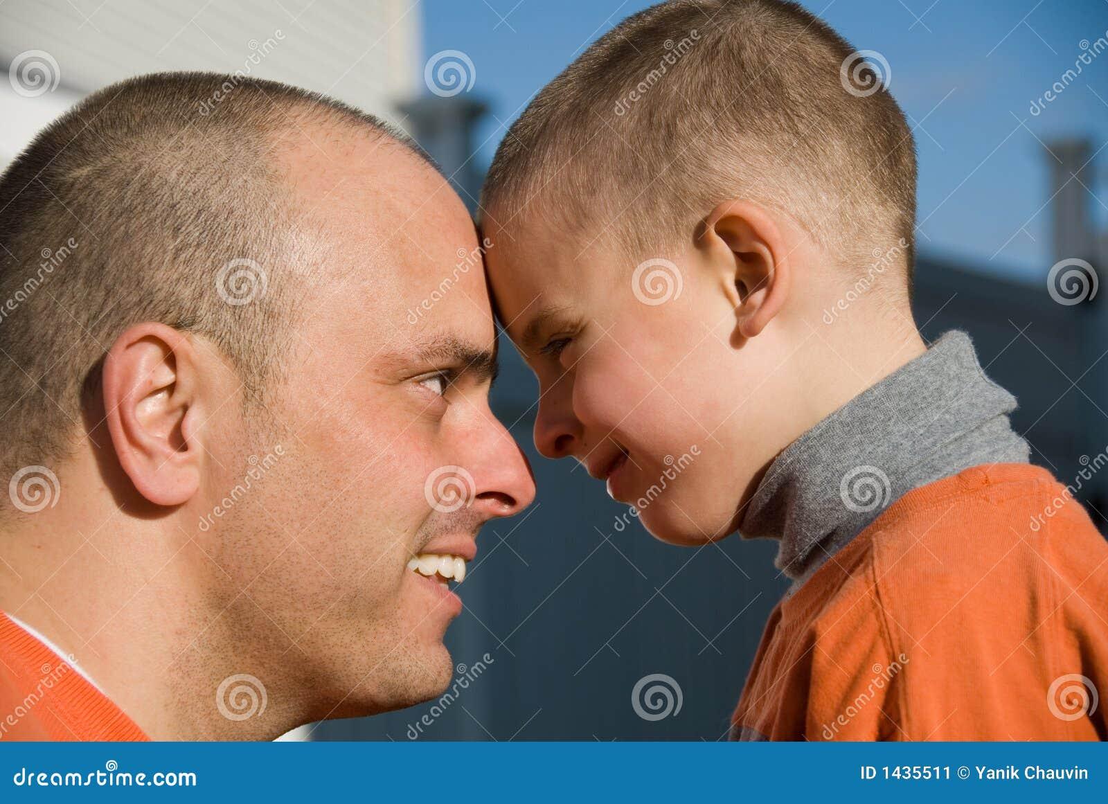 Papa et fils