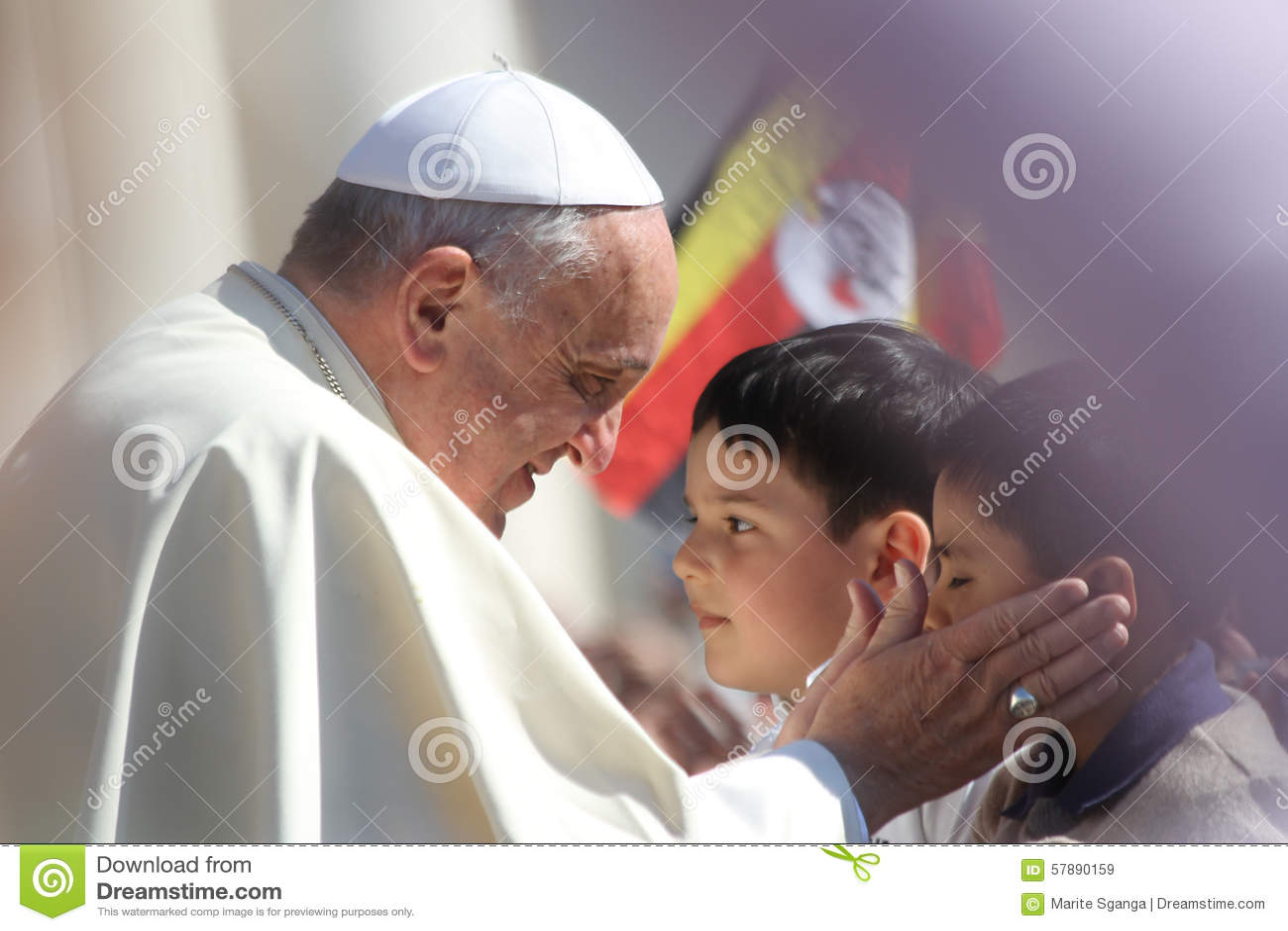 Papa Francisco Portrait