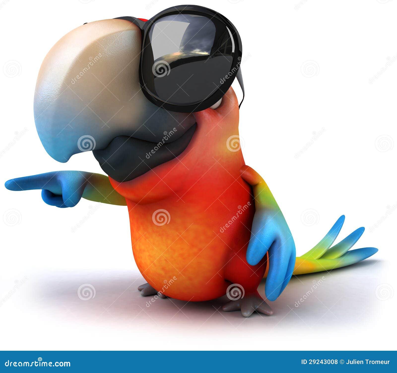 Download Papagaio ilustração stock. Ilustração de bico, preto - 29243008