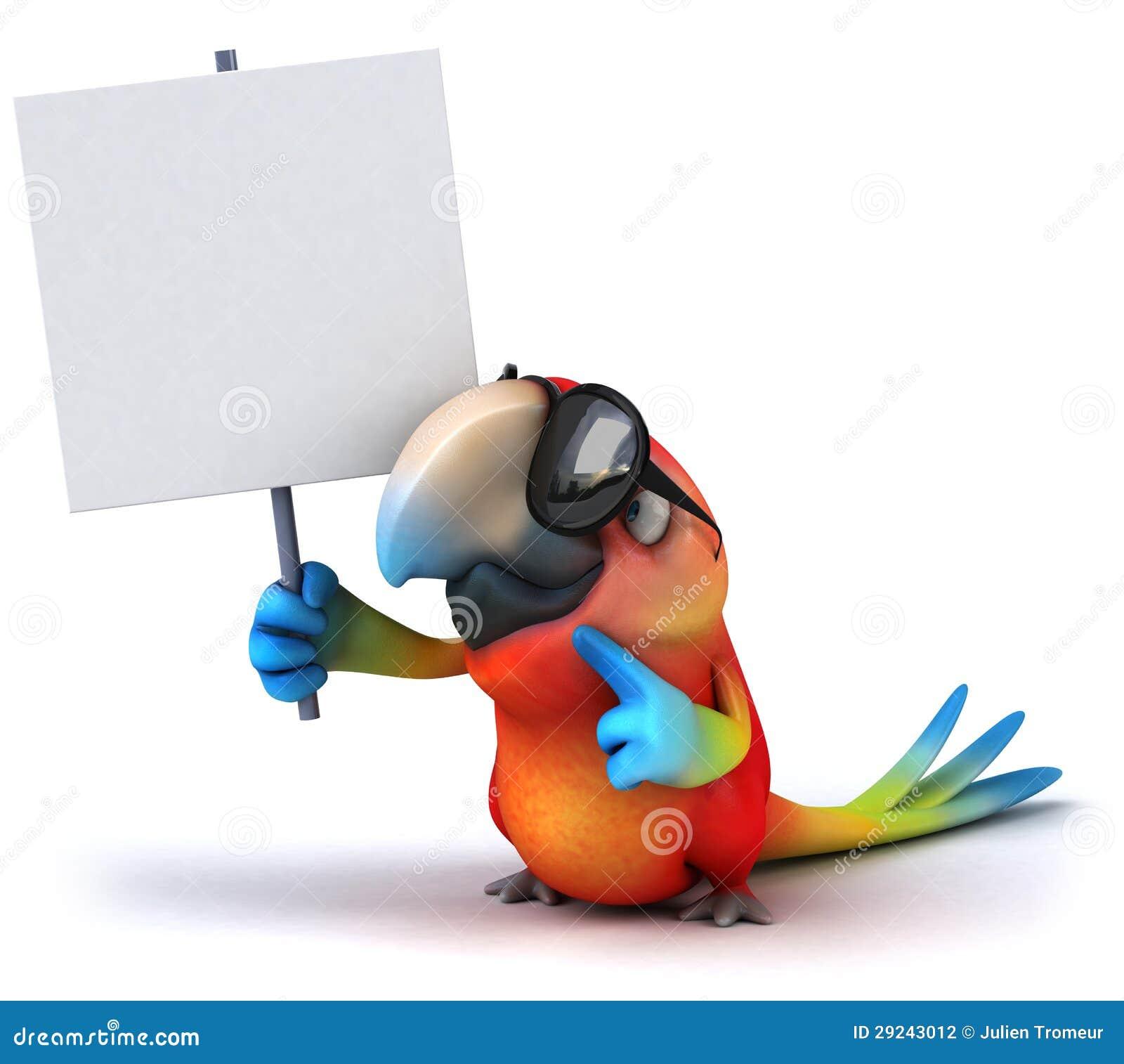 Download Papagaio ilustração stock. Ilustração de brilhante, papagaio - 29243012