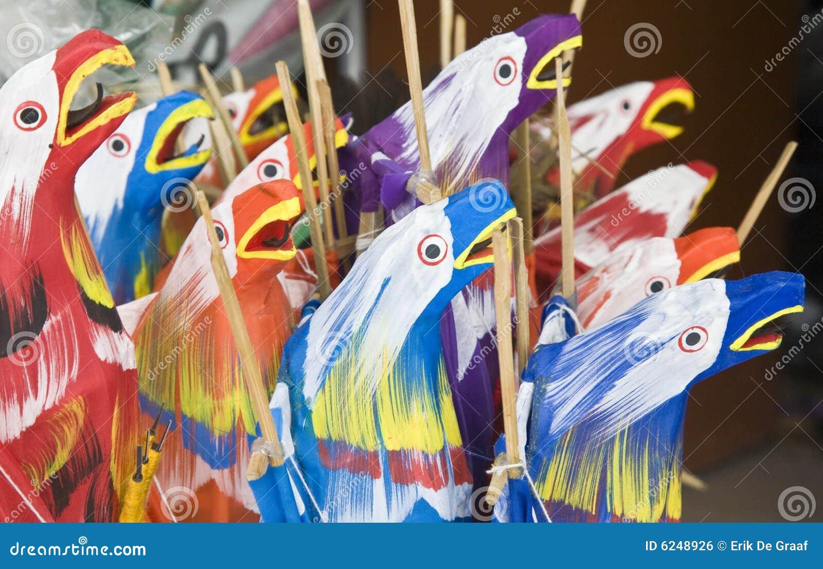Papagaios de Bali