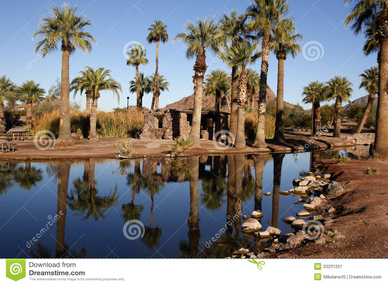 Papago Ponds Stock Image Image 33231201