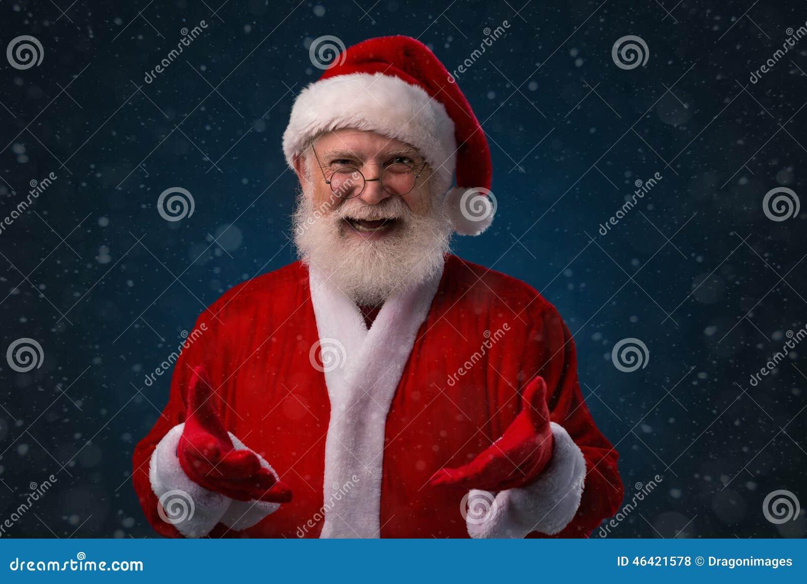 Papai Noel alegre