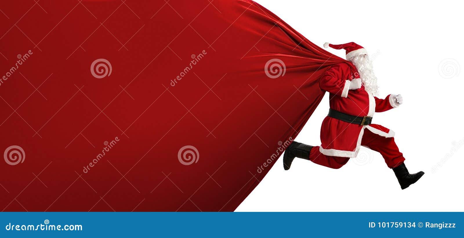 Papai Noel no funcionamento