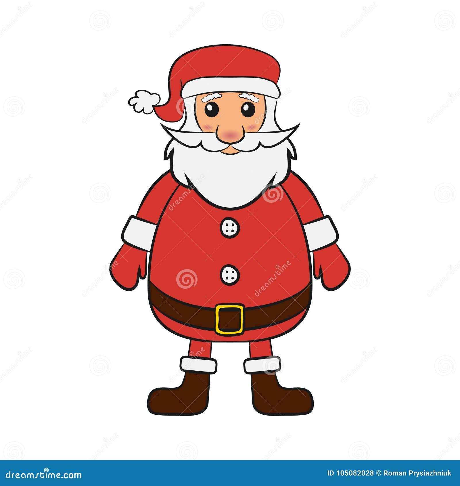 Papai Noel 2 Símbolo Do Ano Novo E Do Natal Pai Frost No