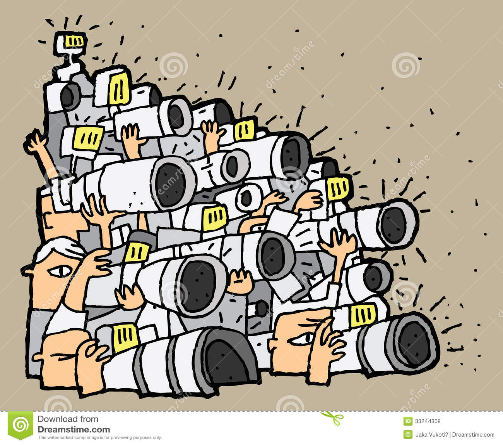 Afbeeldingsresultaat voor paparazzi cartoon