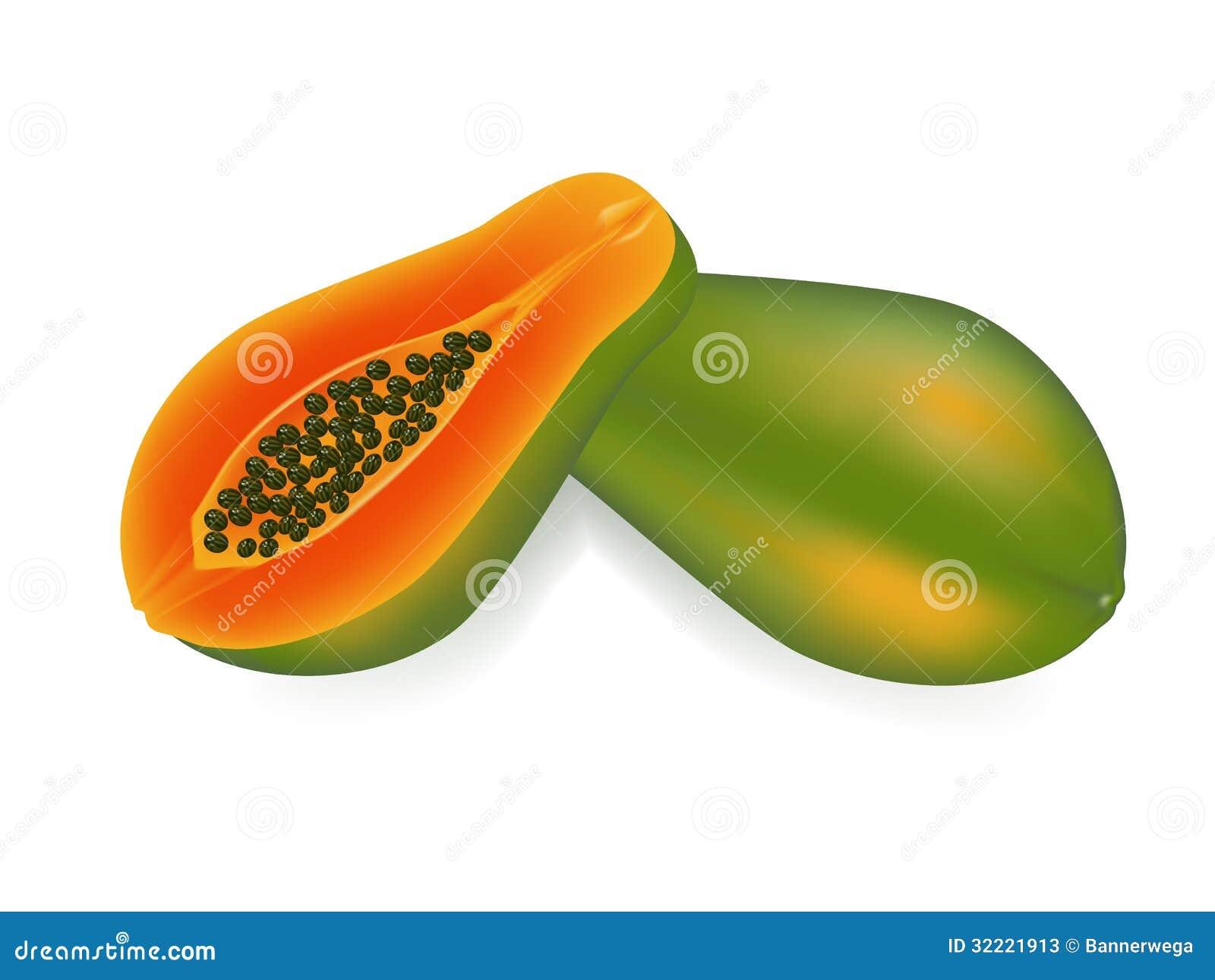 how to eat raw papaya