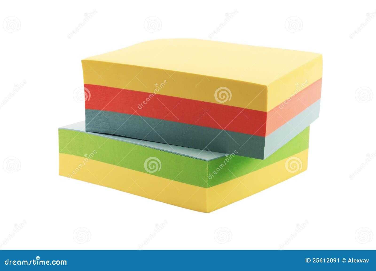 Papel adhesivo para las notas imagen de archivo imagen for Papel adhesivo pared