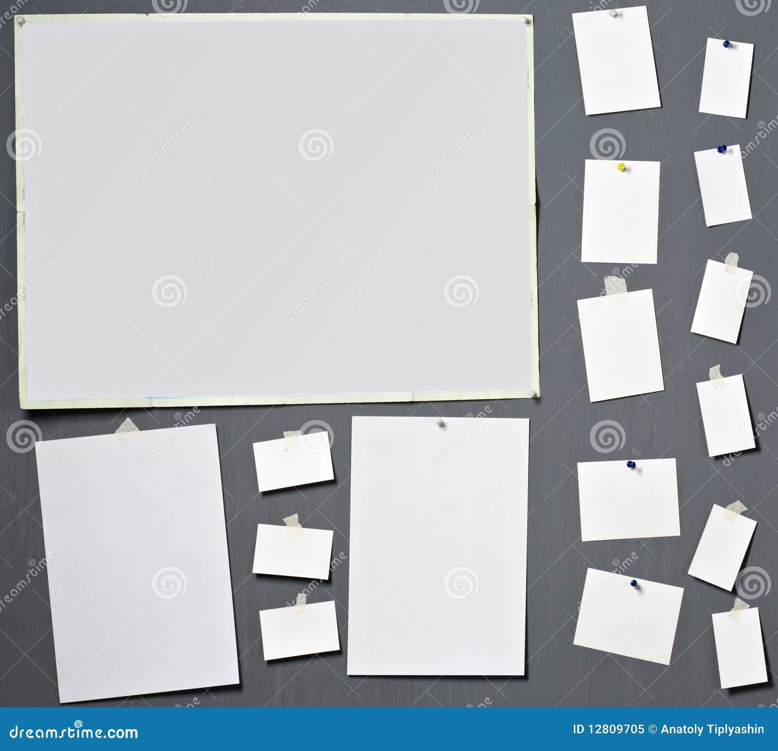 Papel branco da foto