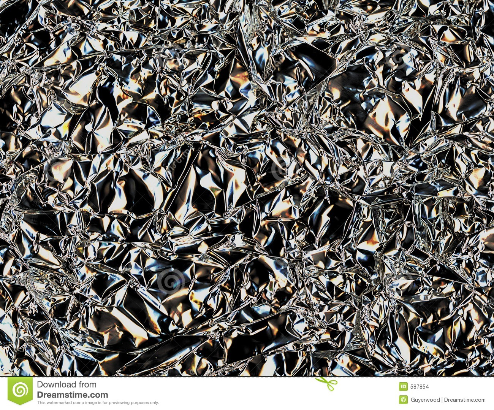 Papel de aluminio arrugado imagenes de archivo imagen for Papel de pared plata