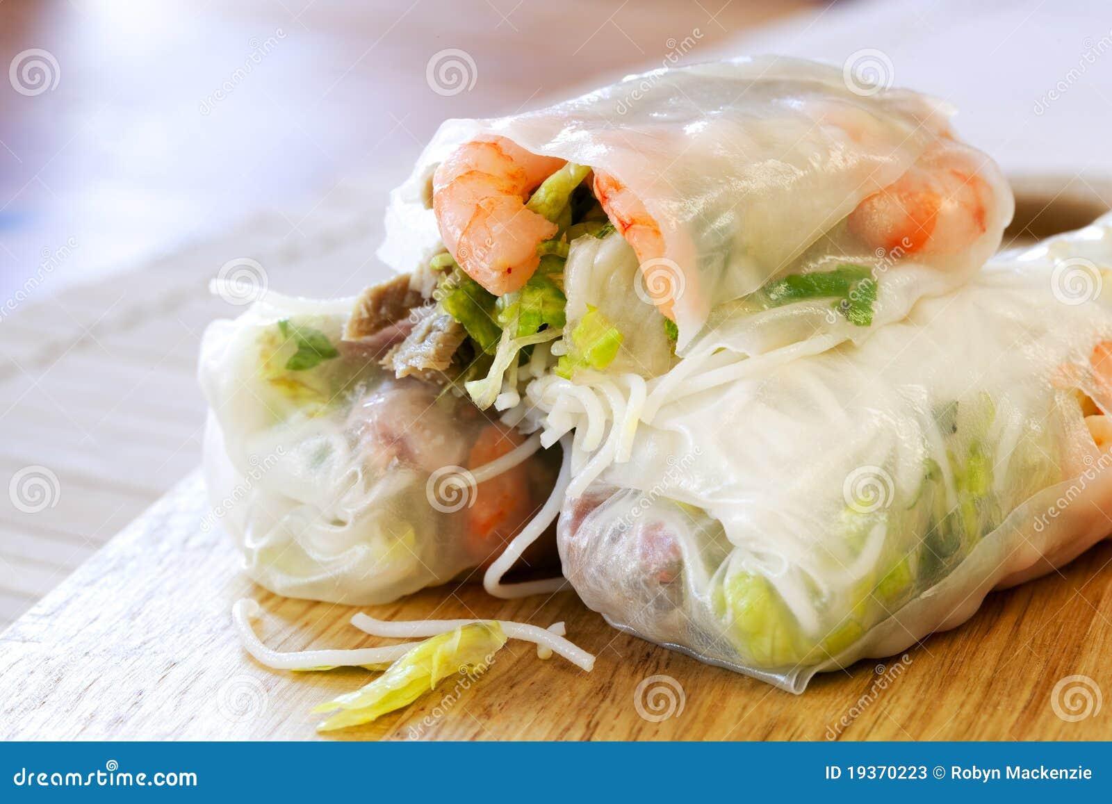 Papel de arroz Rolls