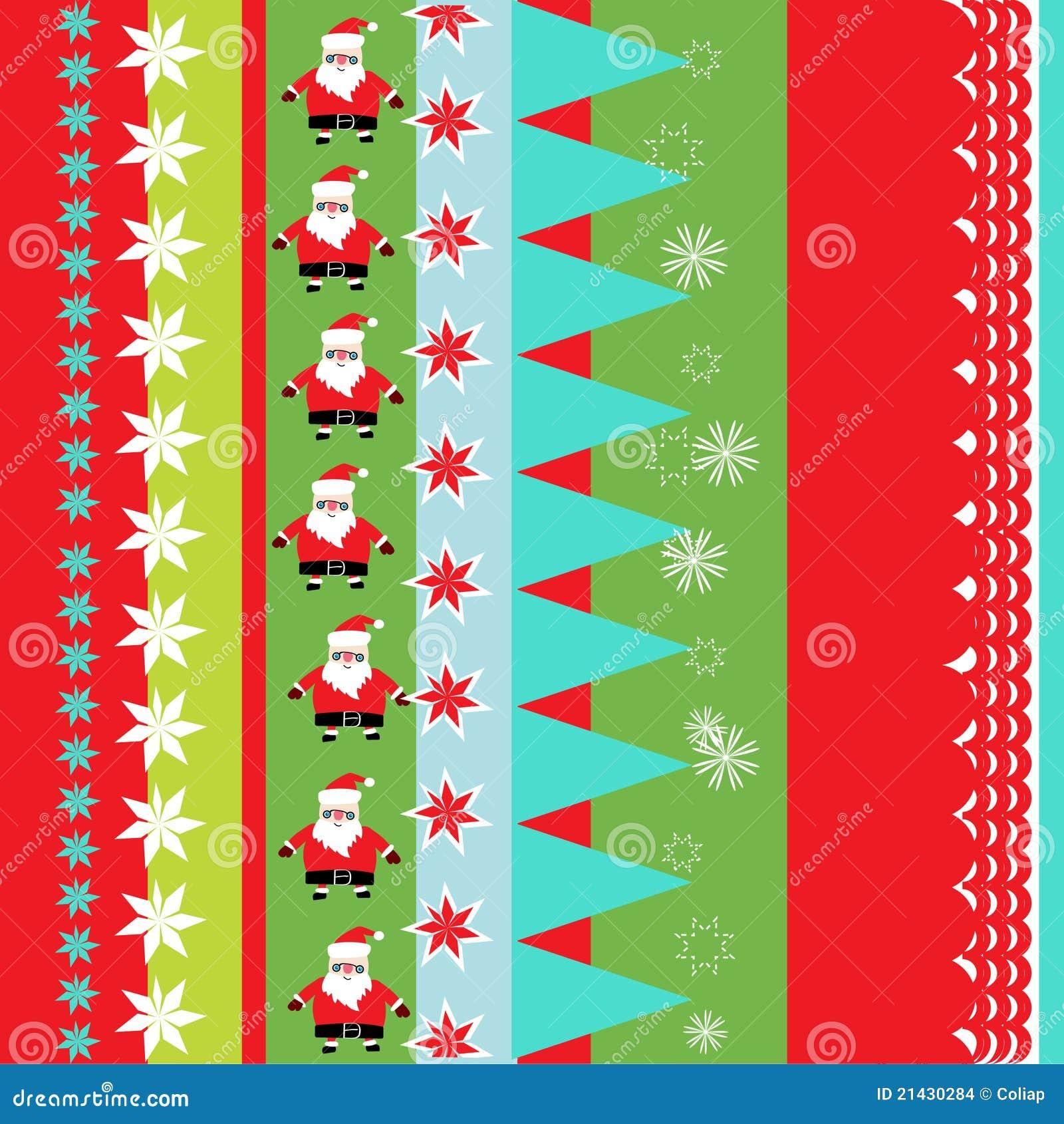 Papel de embalaje de la navidad ilustraci n del vector - Papel de regalo navidad ...
