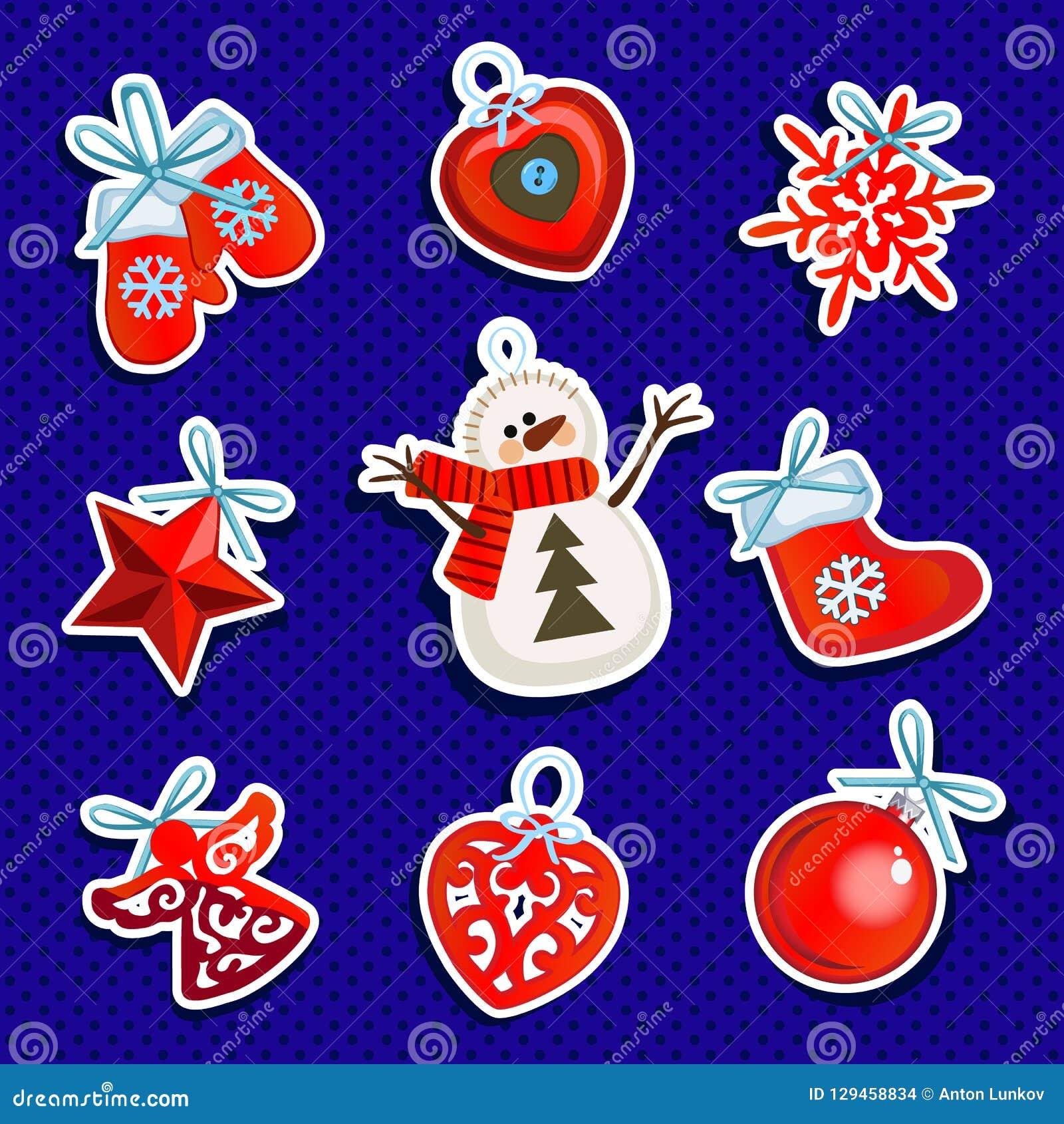 Papel de embalaje del diseño de muestra con cualidades del Año Nuevo y de la Navidad Bosquejo del cartel, invitación del partido