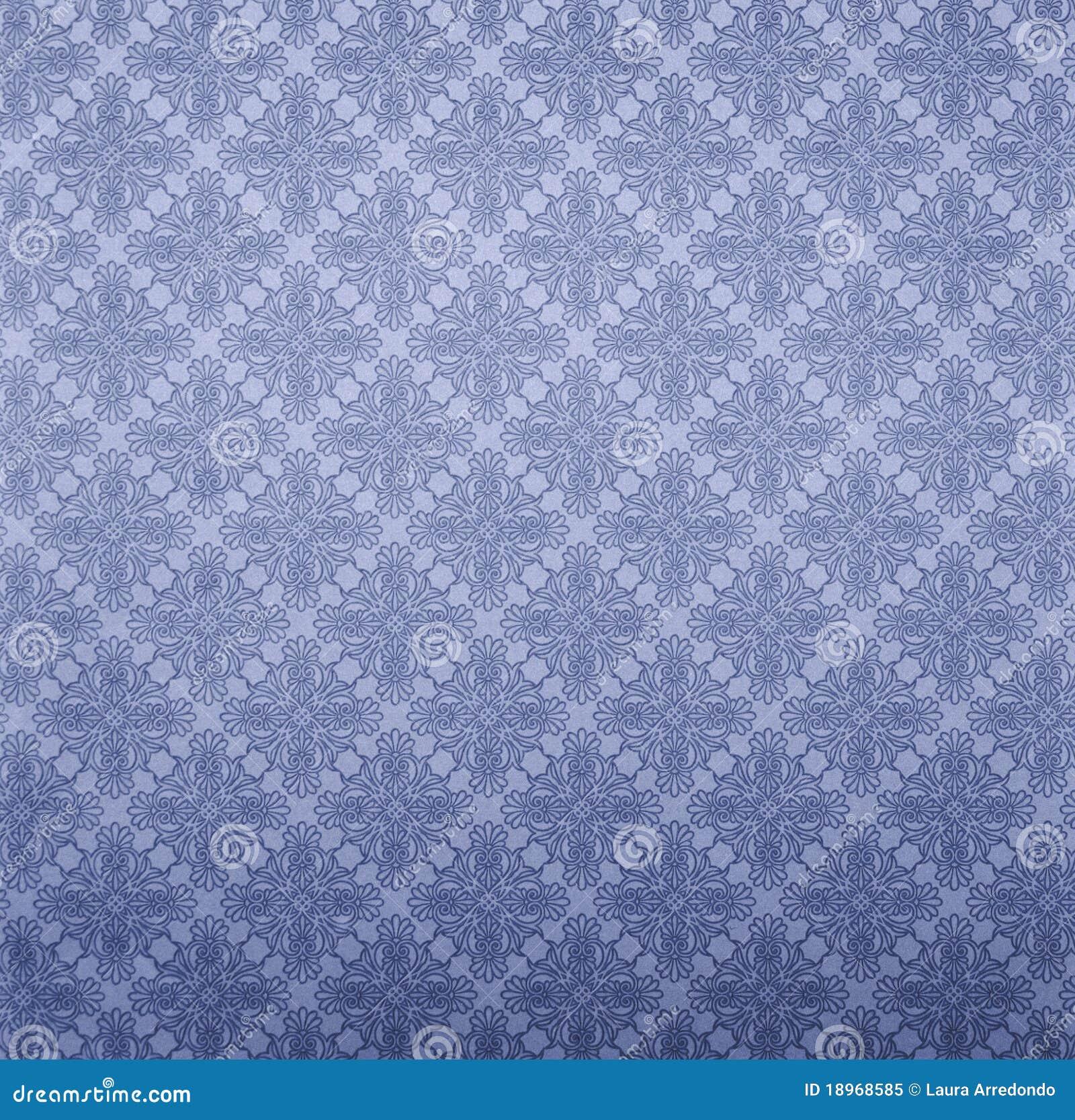 Papel de empapelar azul foto de archivo libre de regal as for Papel para empapelar