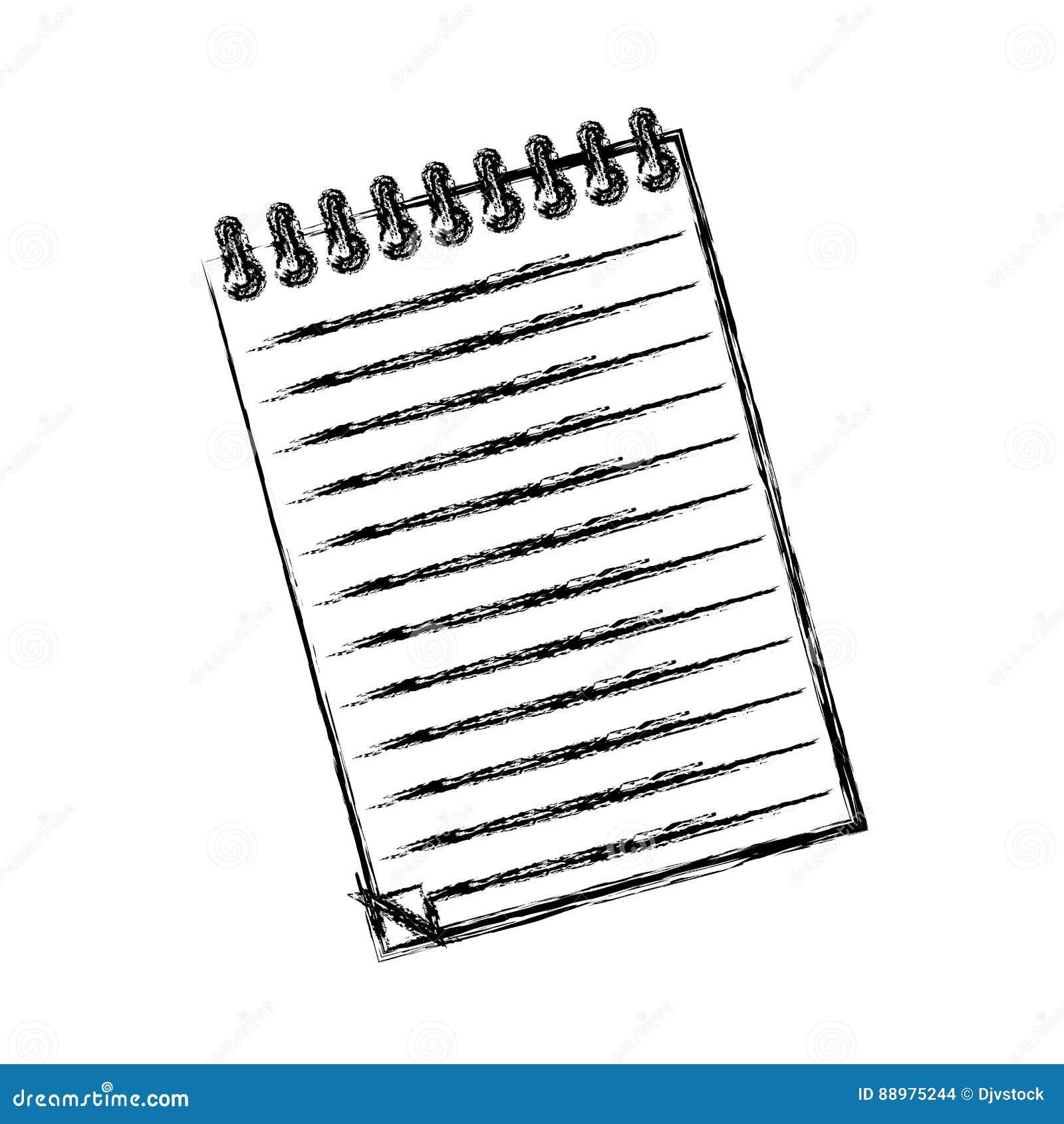 Papel de nota da folha