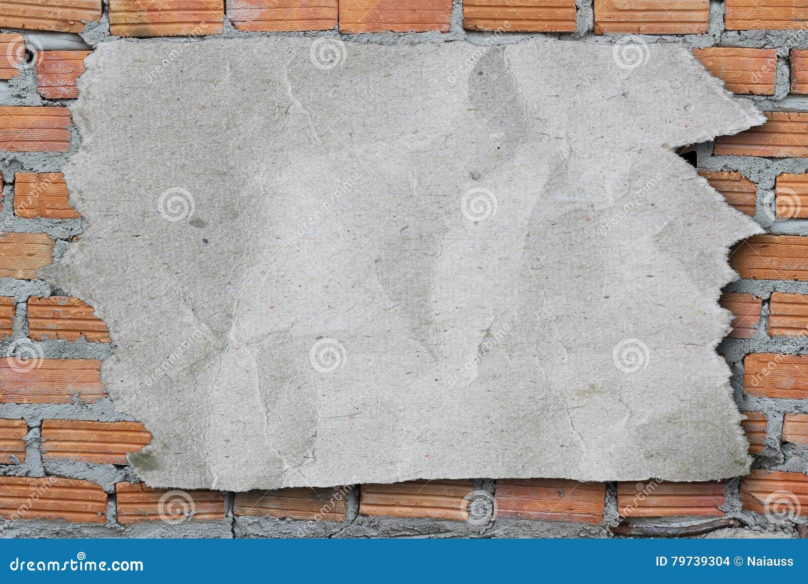 Papel de papel y rasgado rasgado